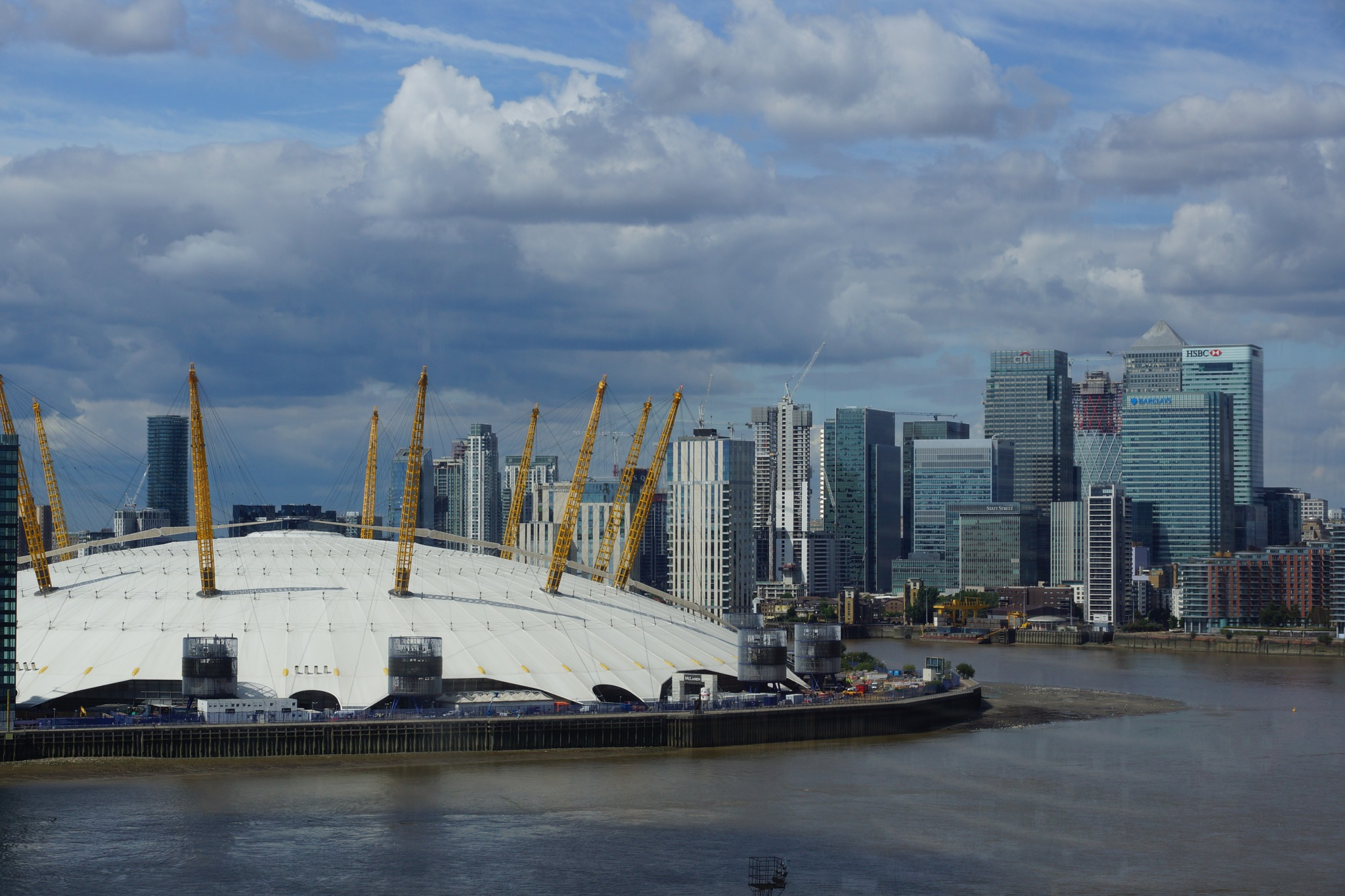 The O2 And The City of London by steve_whitmarsh