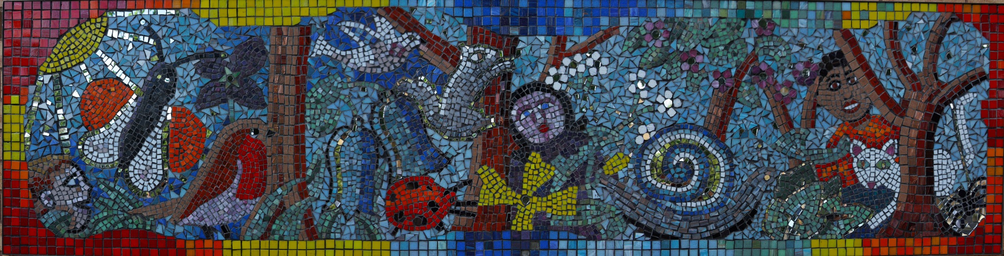 Wall Mosaic by steve_whitmarsh