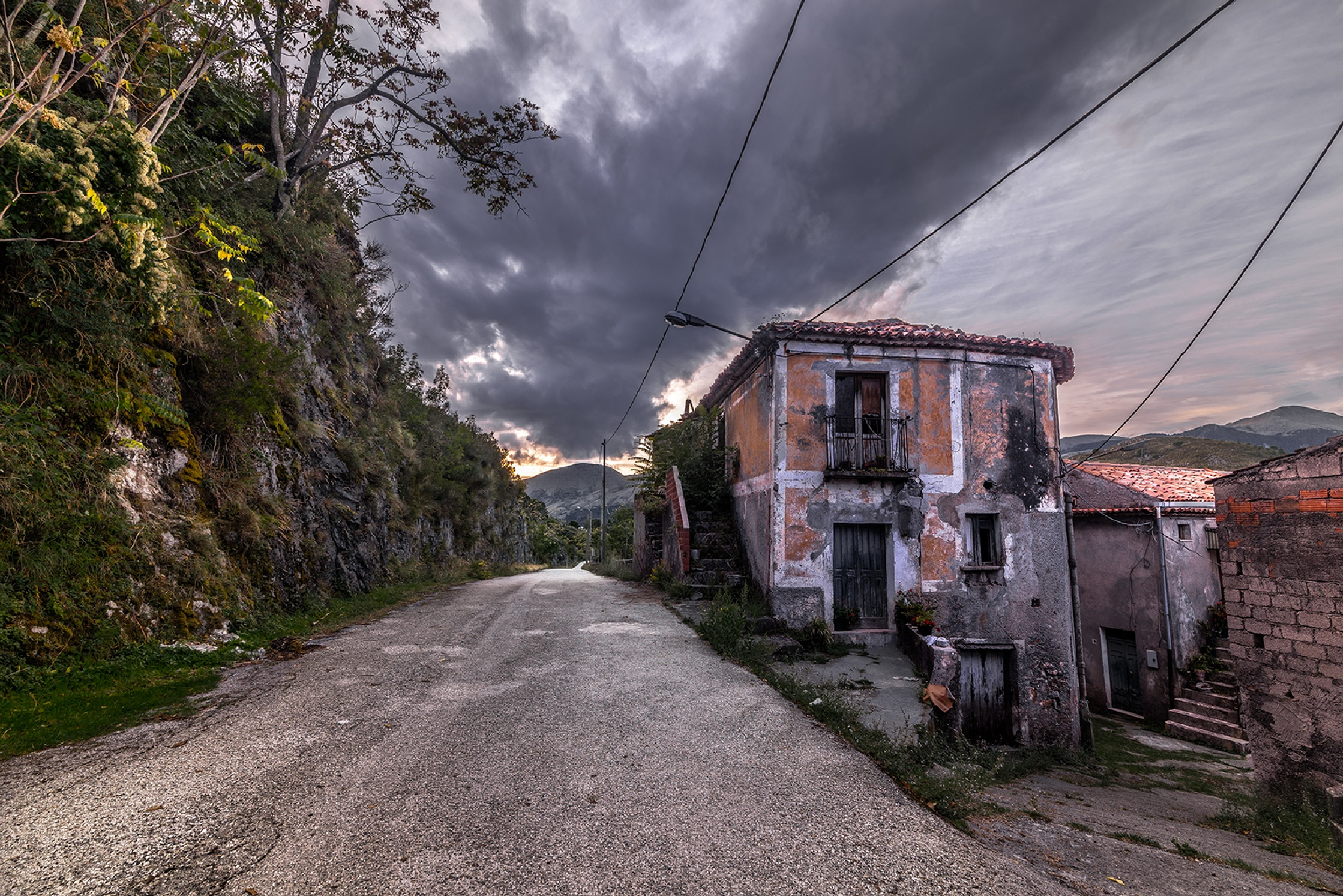 ghost house by Gianfranco Massafra