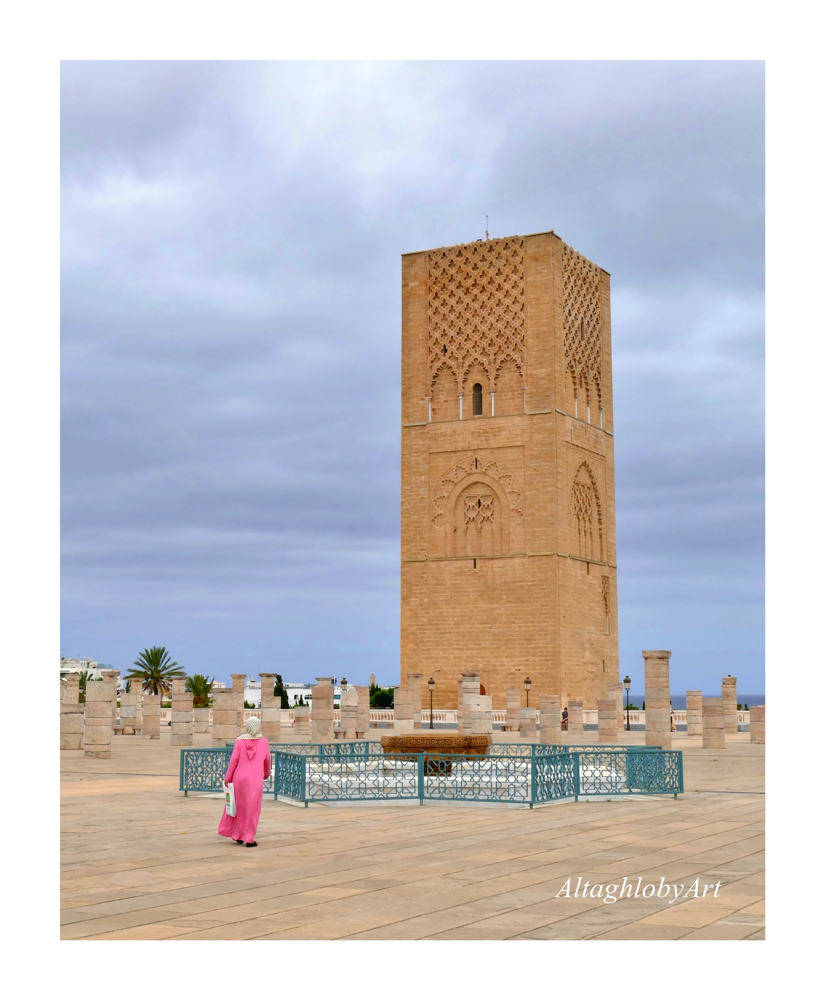 Hassan Tower  by AbdelAzim Altaghloby
