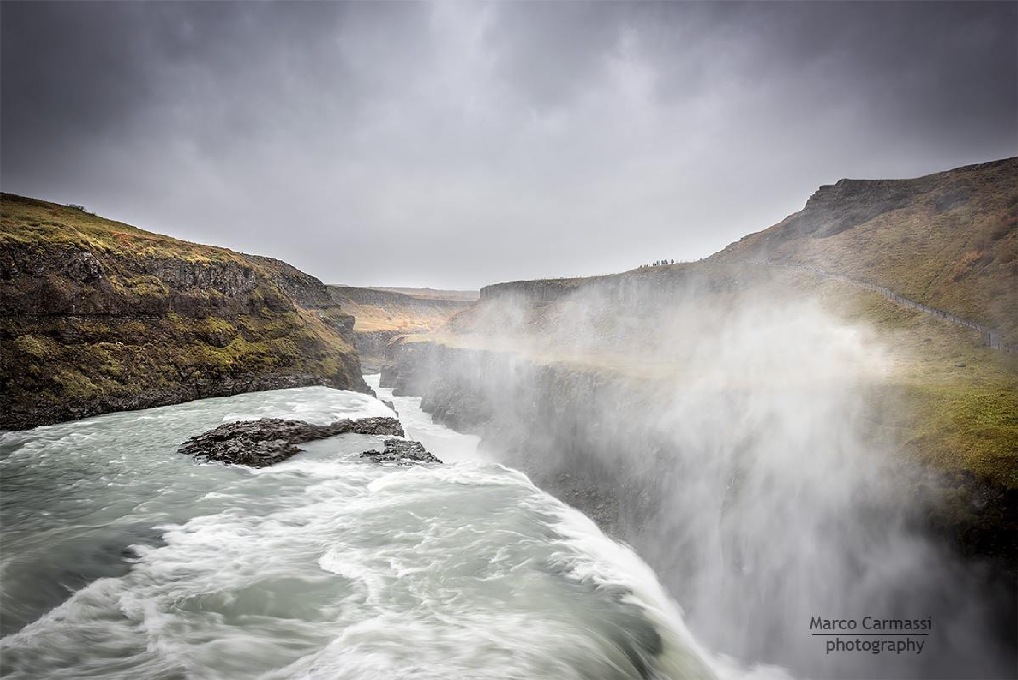 Gullfoss Waterfall, Iceland by marco_carmassi