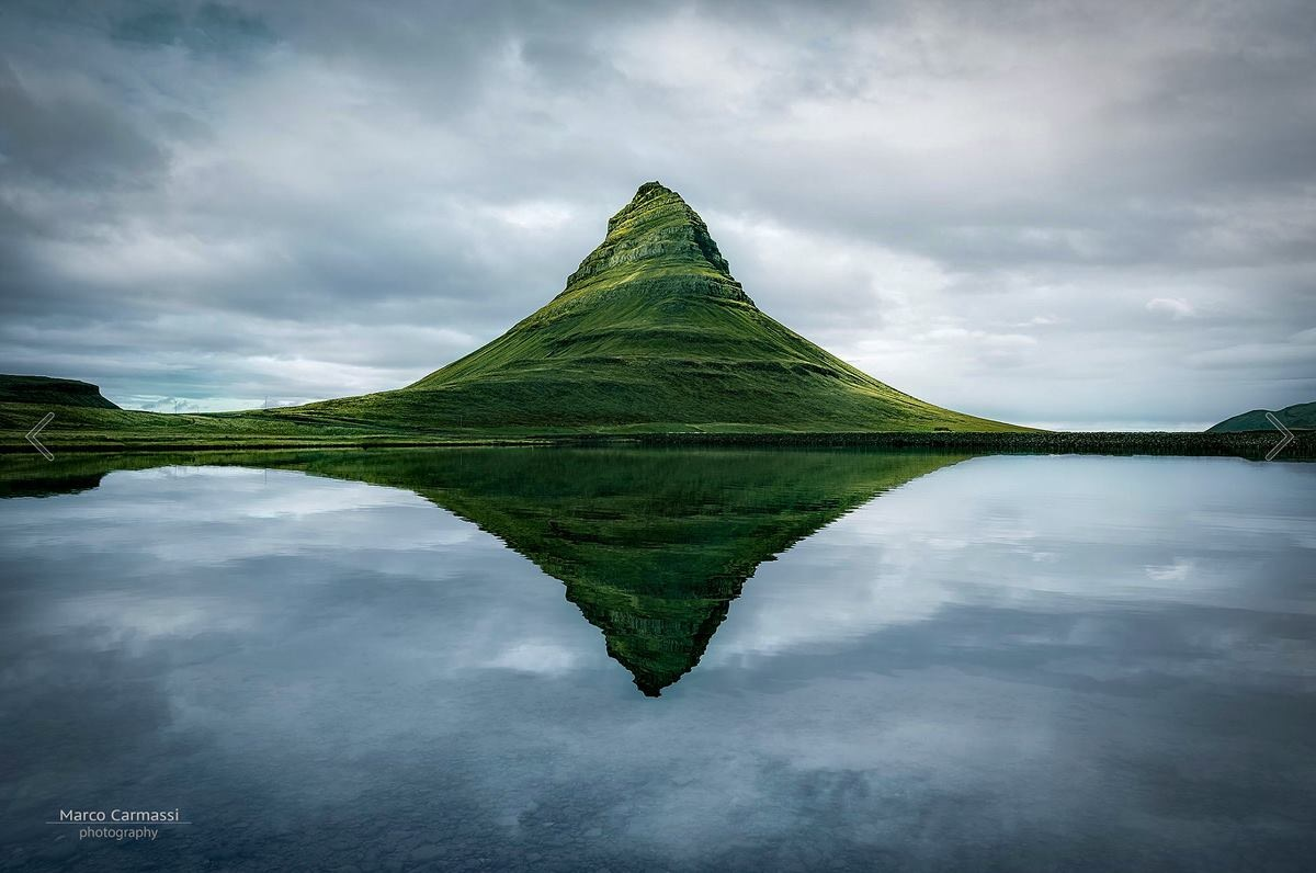 Kirkjufell The Meditation Place (Iceland) by marco_carmassi