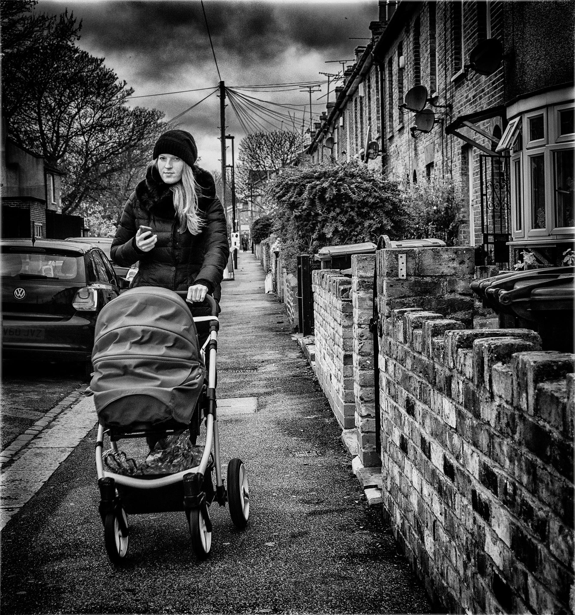 Going for a walk by Henri Mattocks