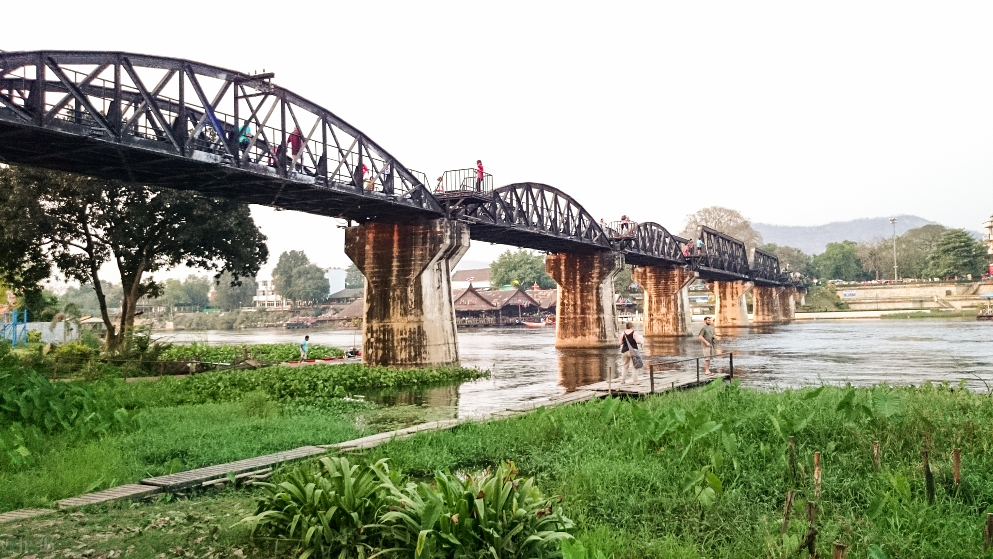 River Kwai by Chairat Buntaotook