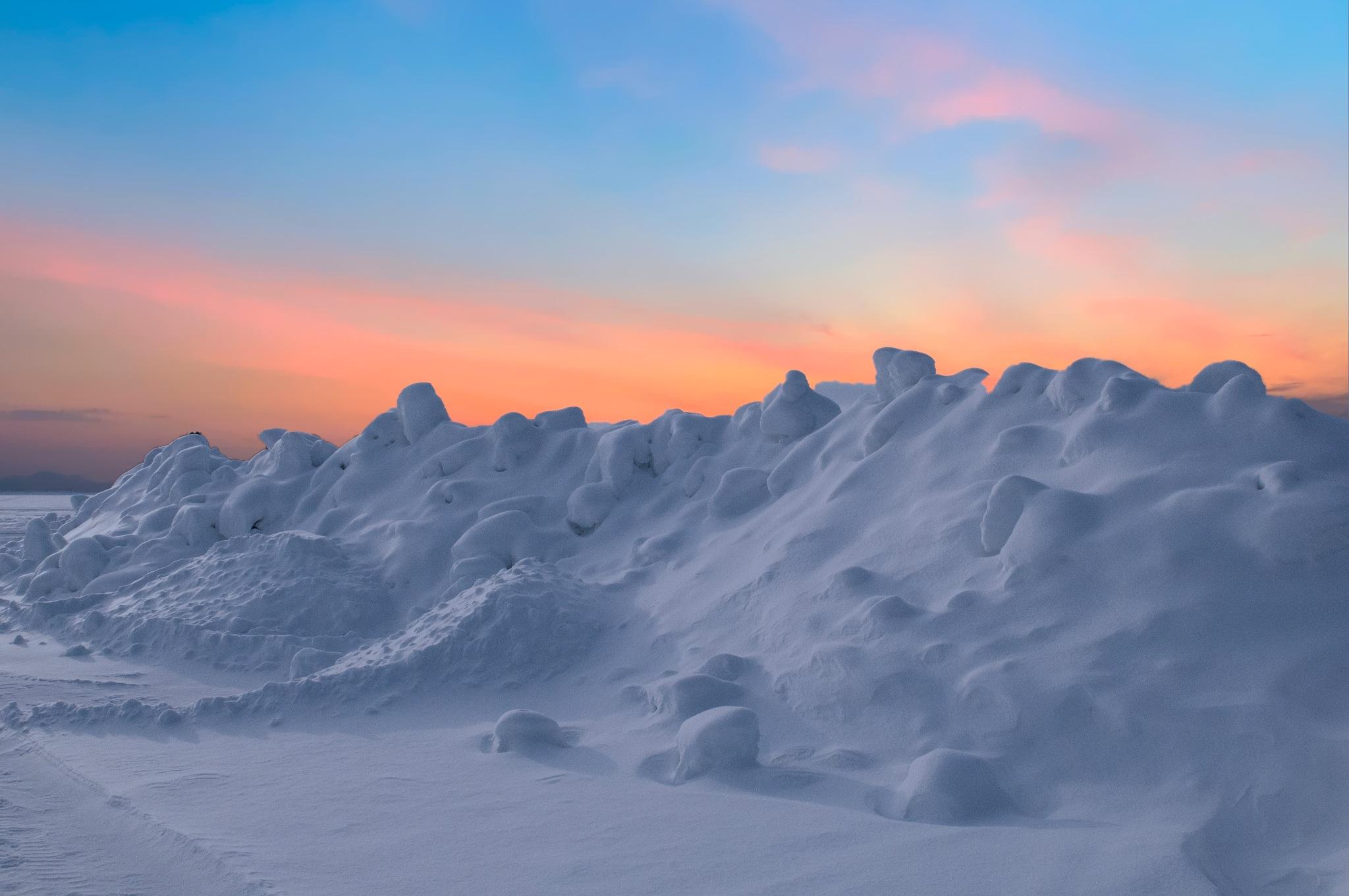 Photo in Landscape #snow #ski #resort #golden hour #ice #nikon #frans van heerden's photograph