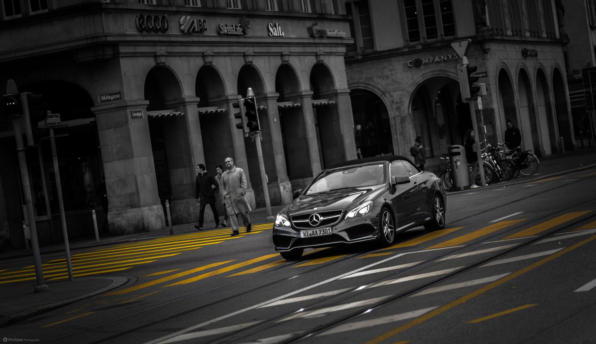 Black Benz Zurich by MedLyes