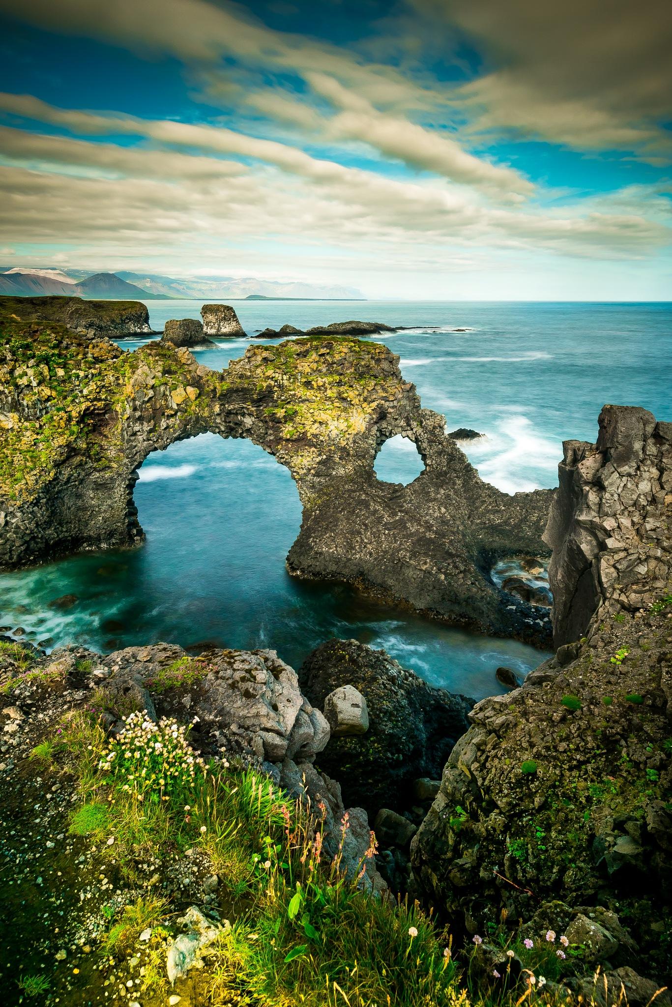 Arnarstapi,Iceland by Krishanu Roy