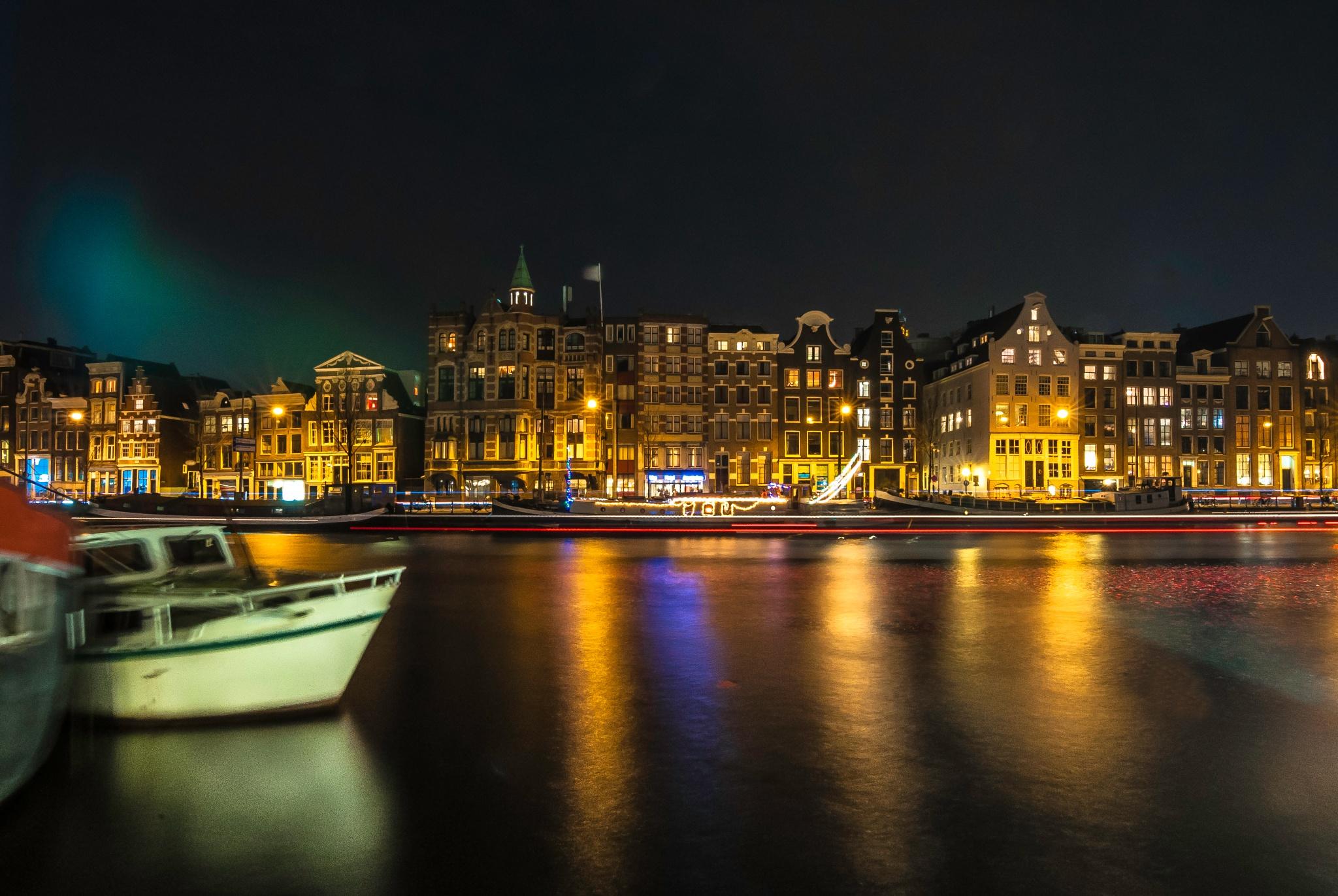 amsterdam canal by Krishanu Roy