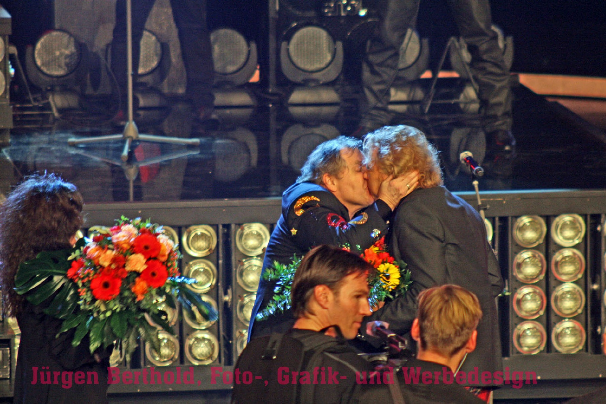 Meat Loaf and Thomas Gottschalk by Steelblue67