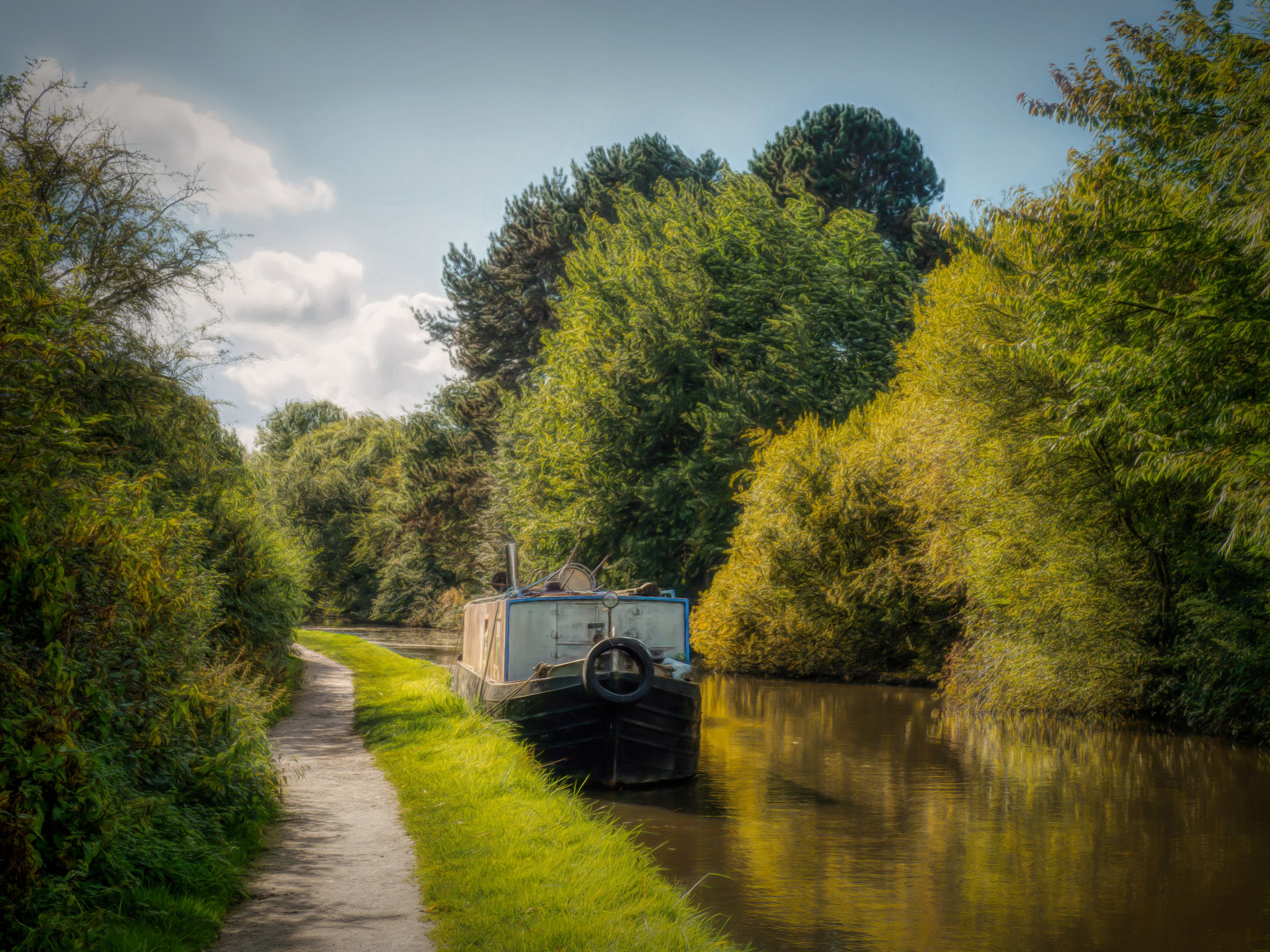 One More Canal Boat by Sarah Walters