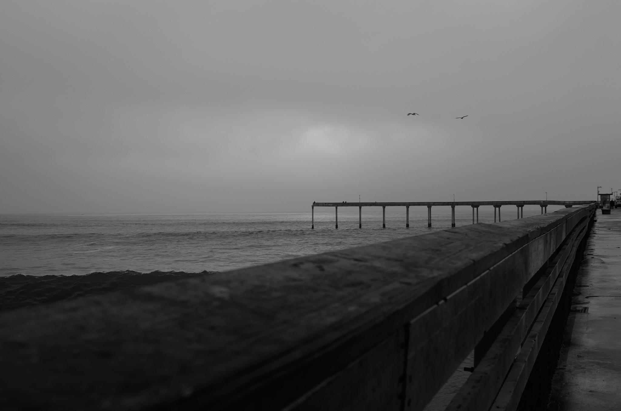 Pier in OB by Andrew Fuchs