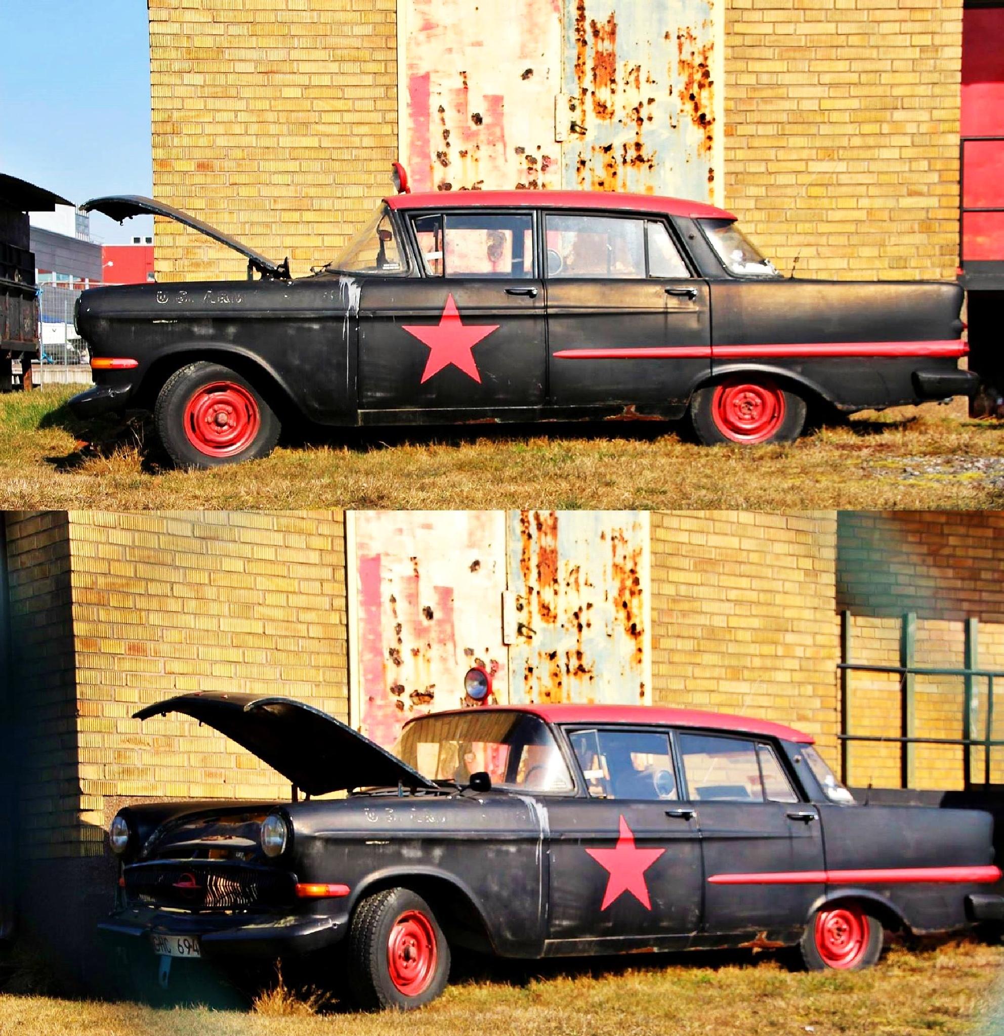 Rusty Car by Lejla Mehinovic