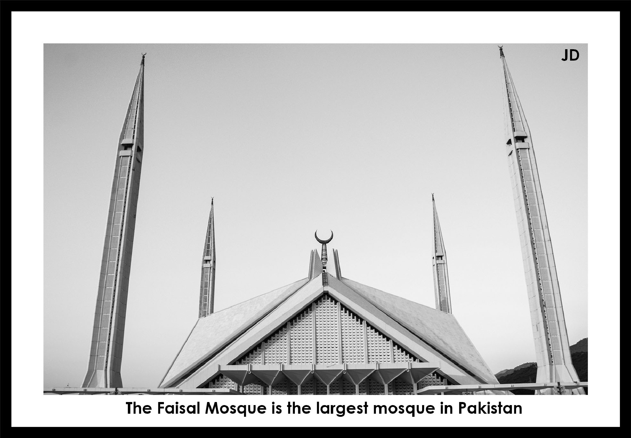 Faisal Mosque in Islamabad  by JawadJD