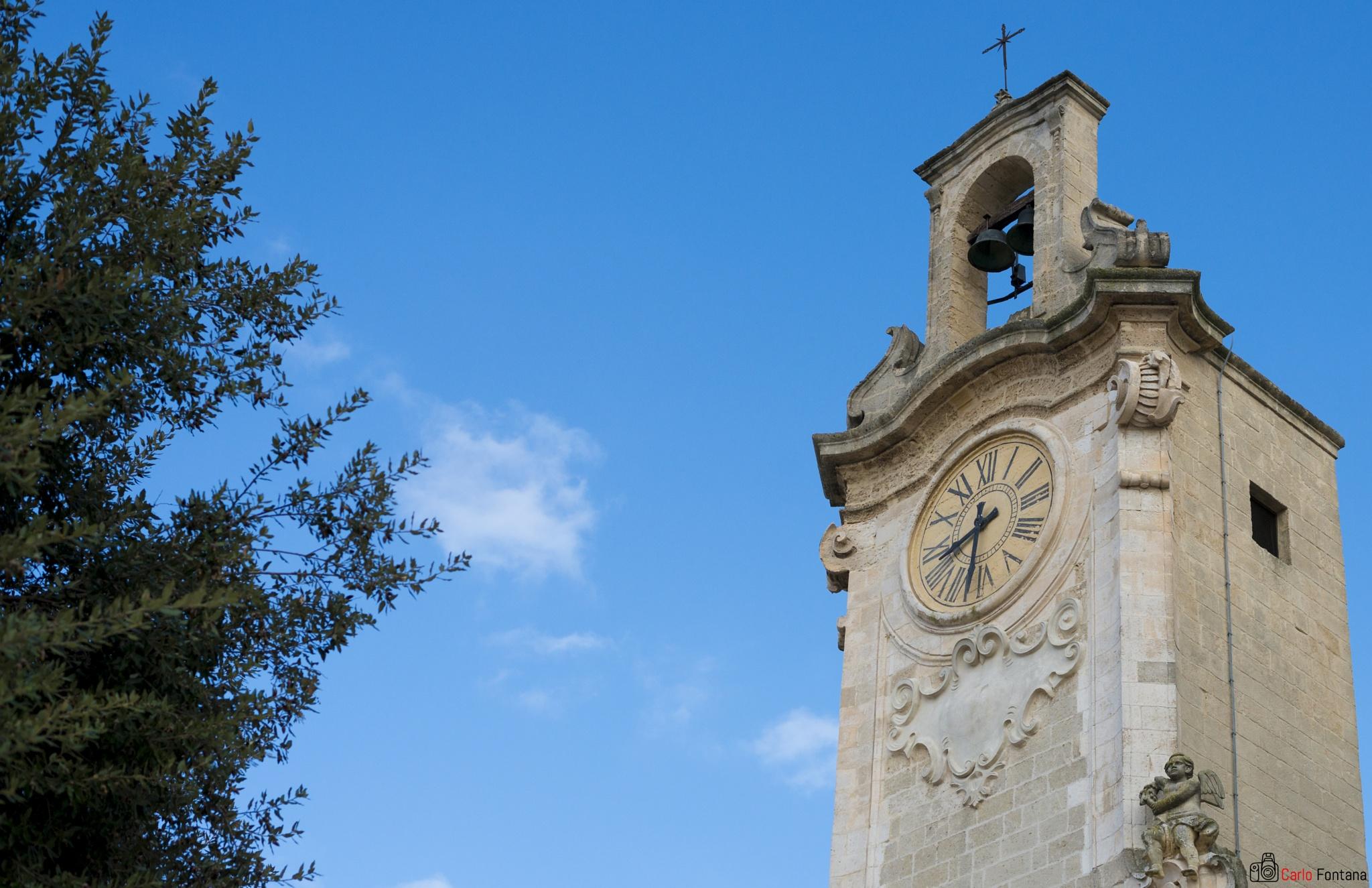 Clock Tower by Carlo Fontana