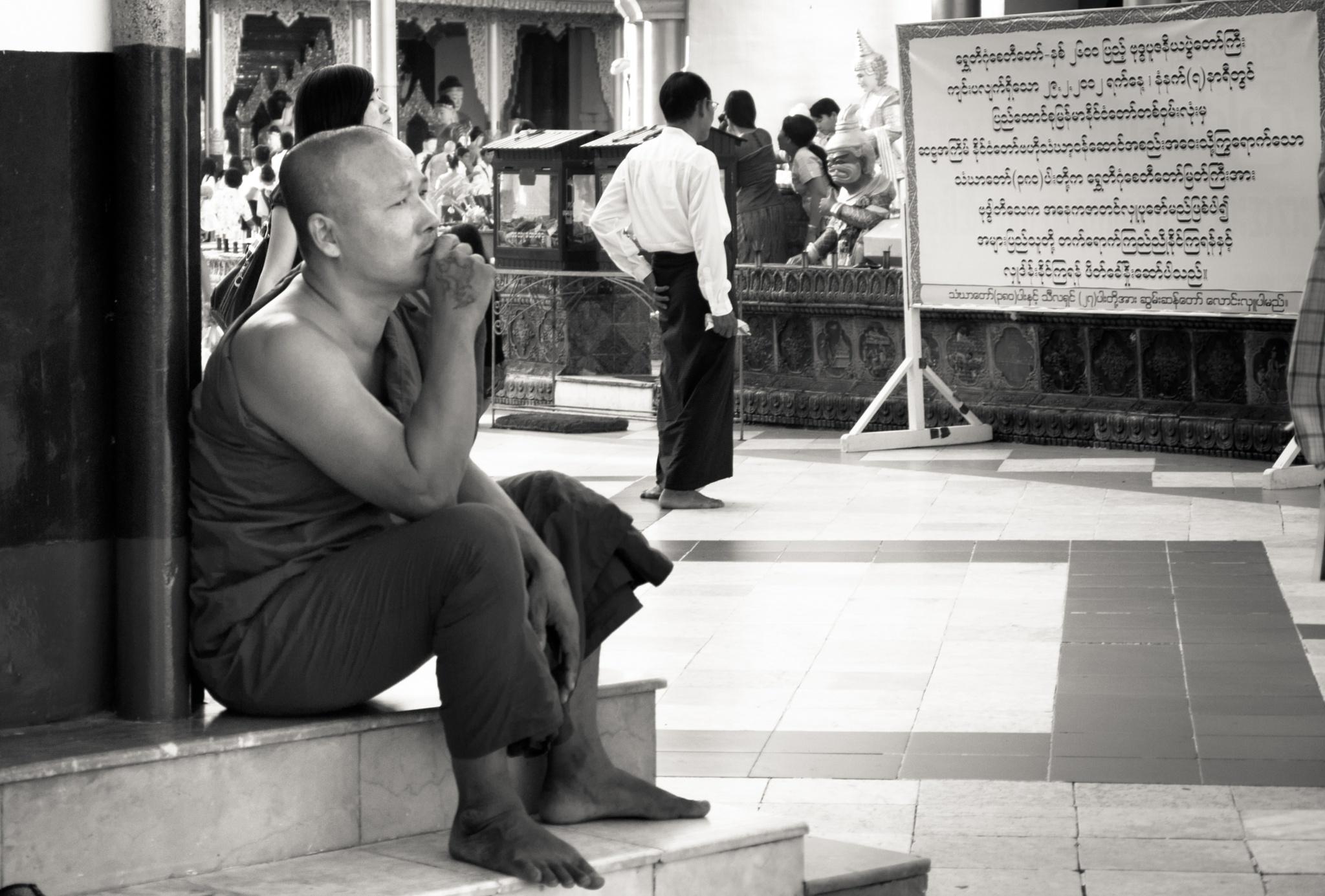Monk by Sasha