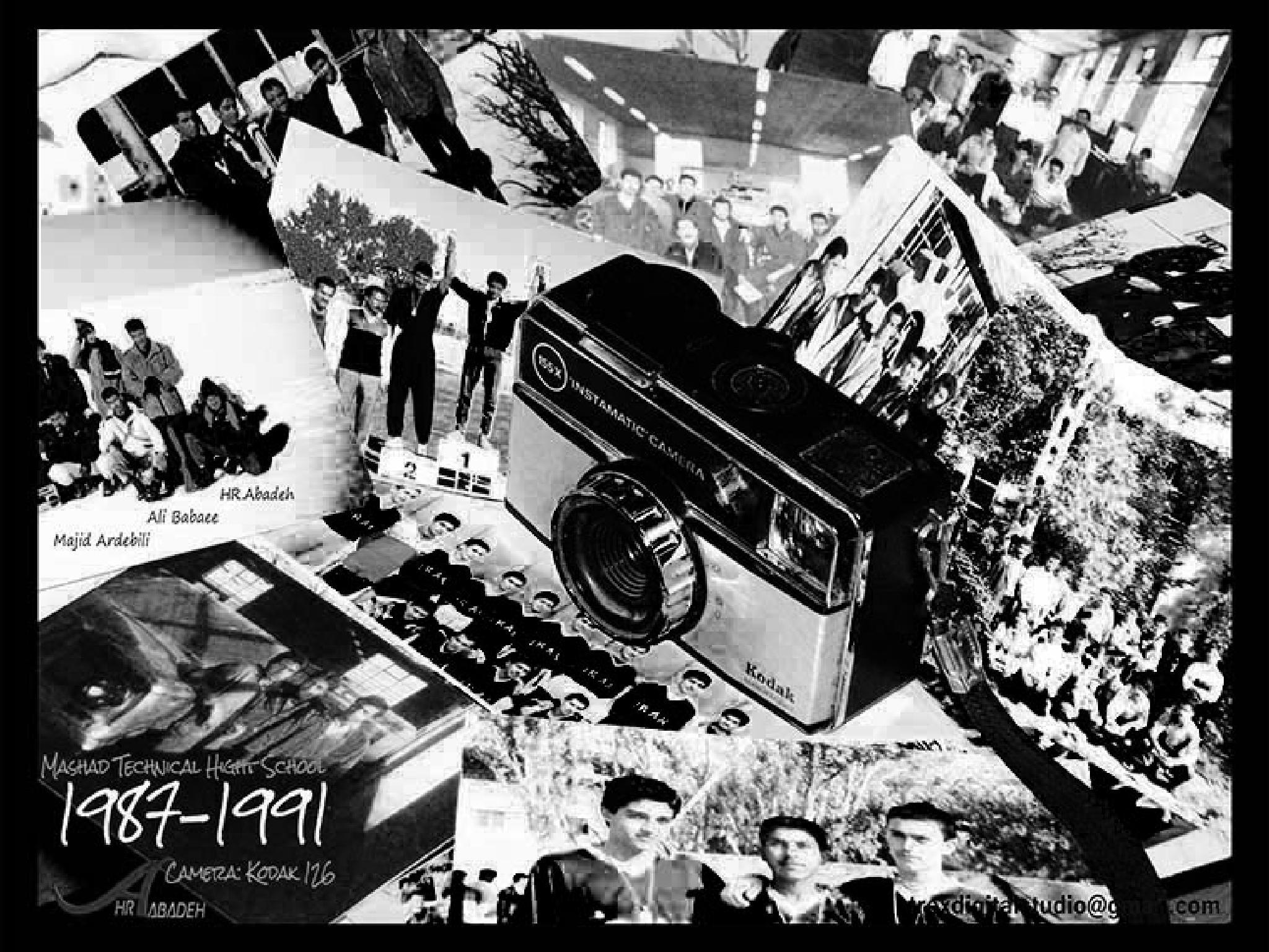 """""""  KODAK 126 """" (in memory of Kodak co.) by HR ABADEH"""
