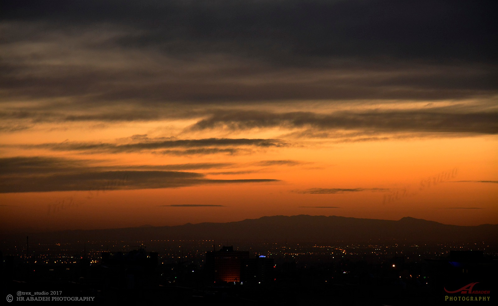 """"""" SUNSET """" by HR ABADEH"""