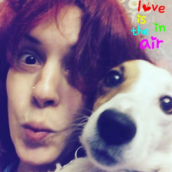 Love is in the air by Mara Barova--Marcella