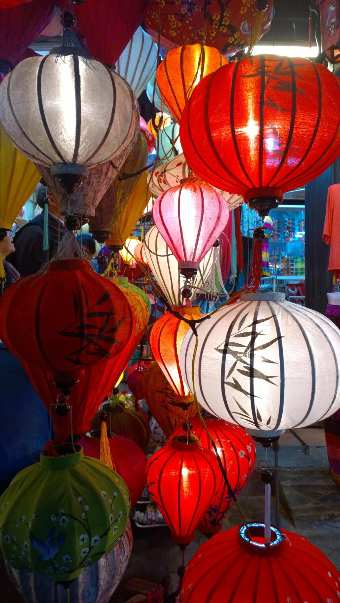 lanterns by th0rgal aegirsson