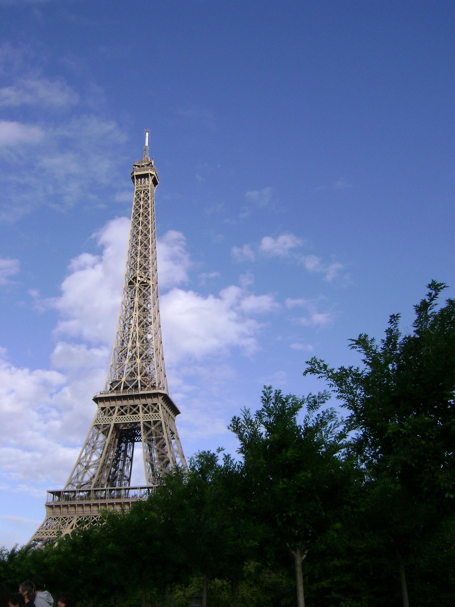 Eiffel tower by Debbie Engelbrecht