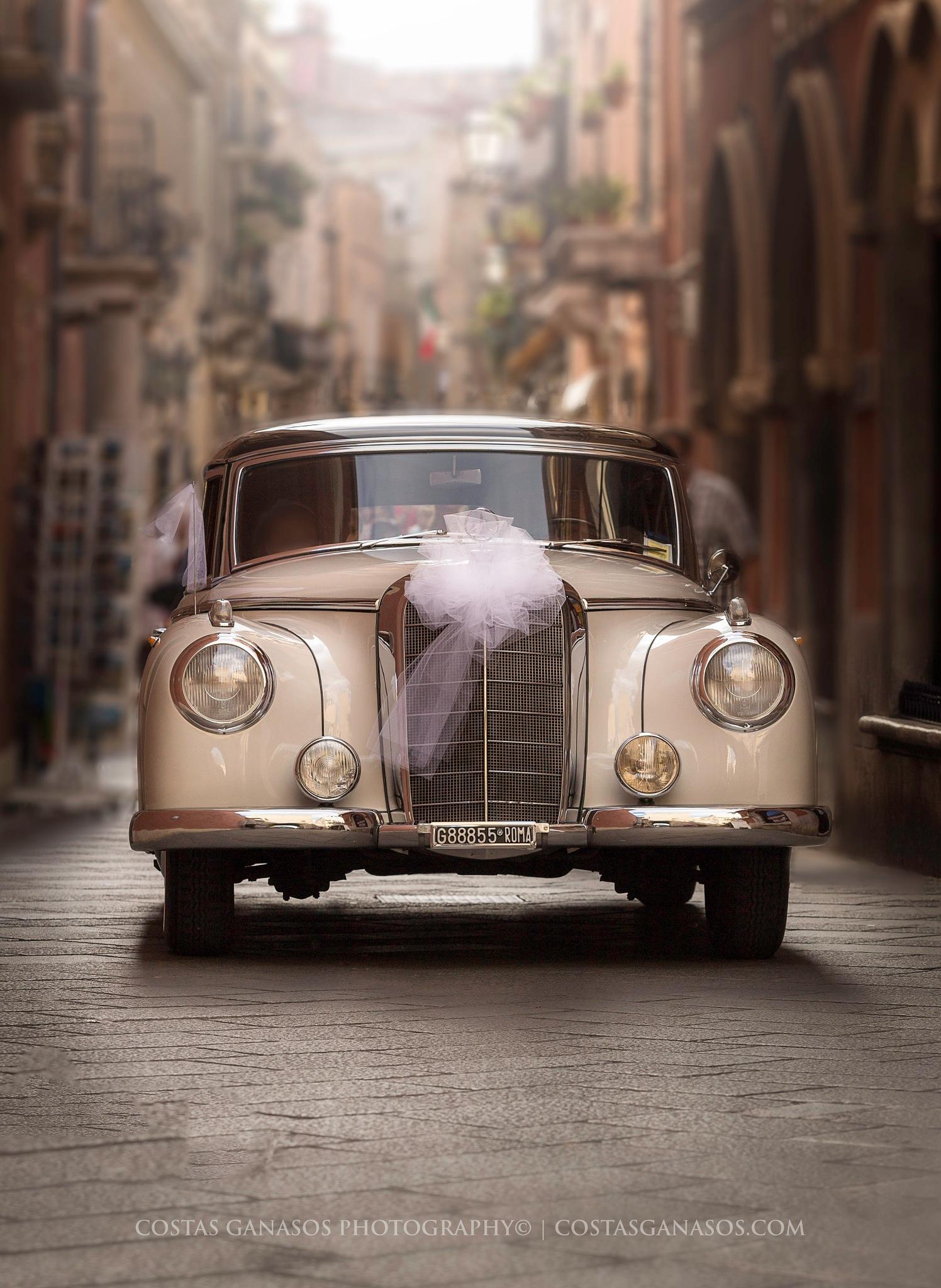 Here comes the bride...! by CostasGanasos