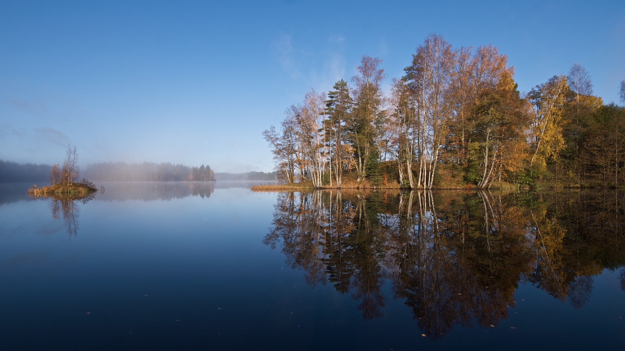 Reflection II. by Tue Romanow