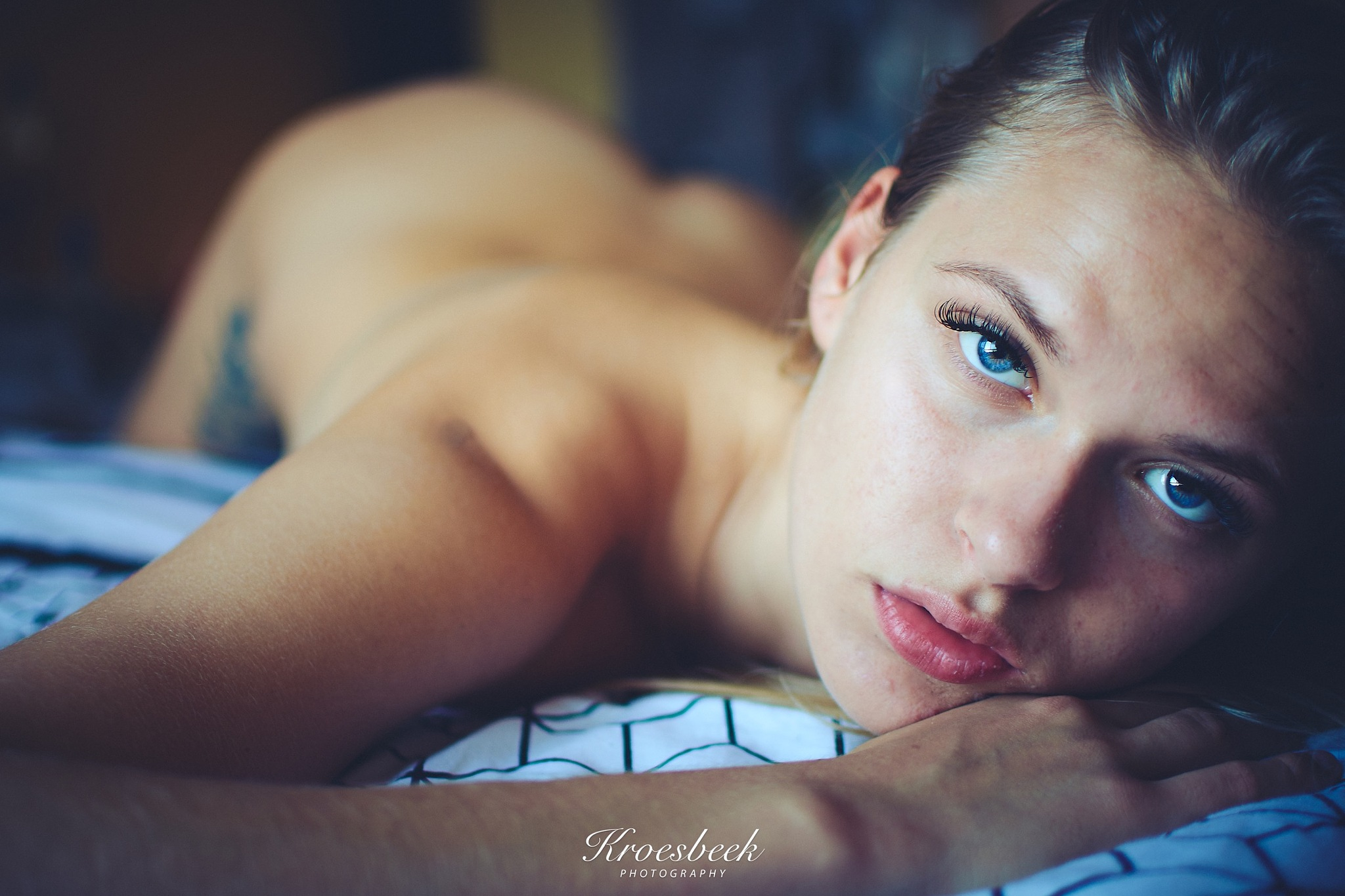 Photo in Nude #rotterdam #homeshoot #nikon #prime #personal #girl #bed #captureone #home #photoshoot #nude