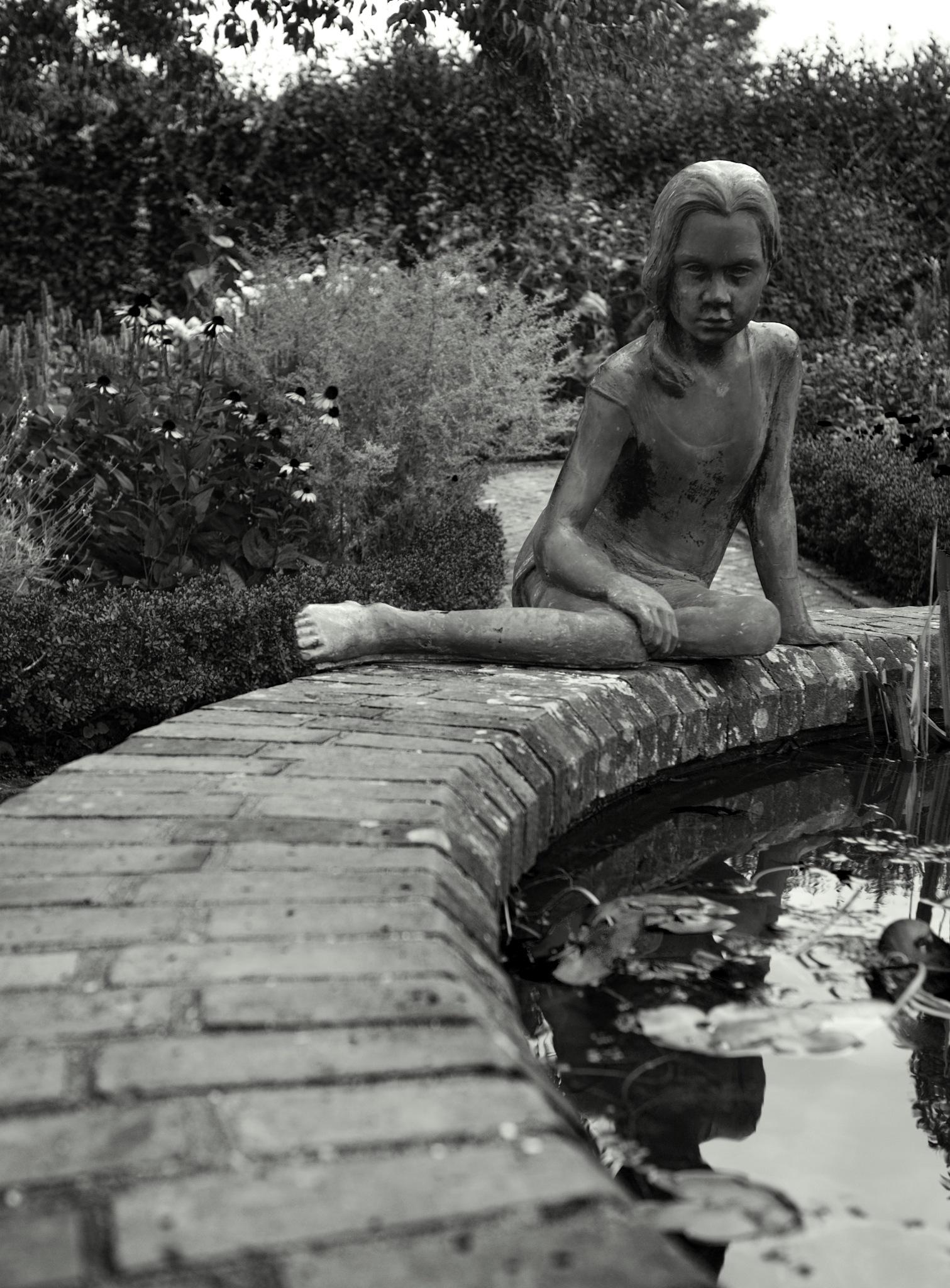 pond nymph by moiz