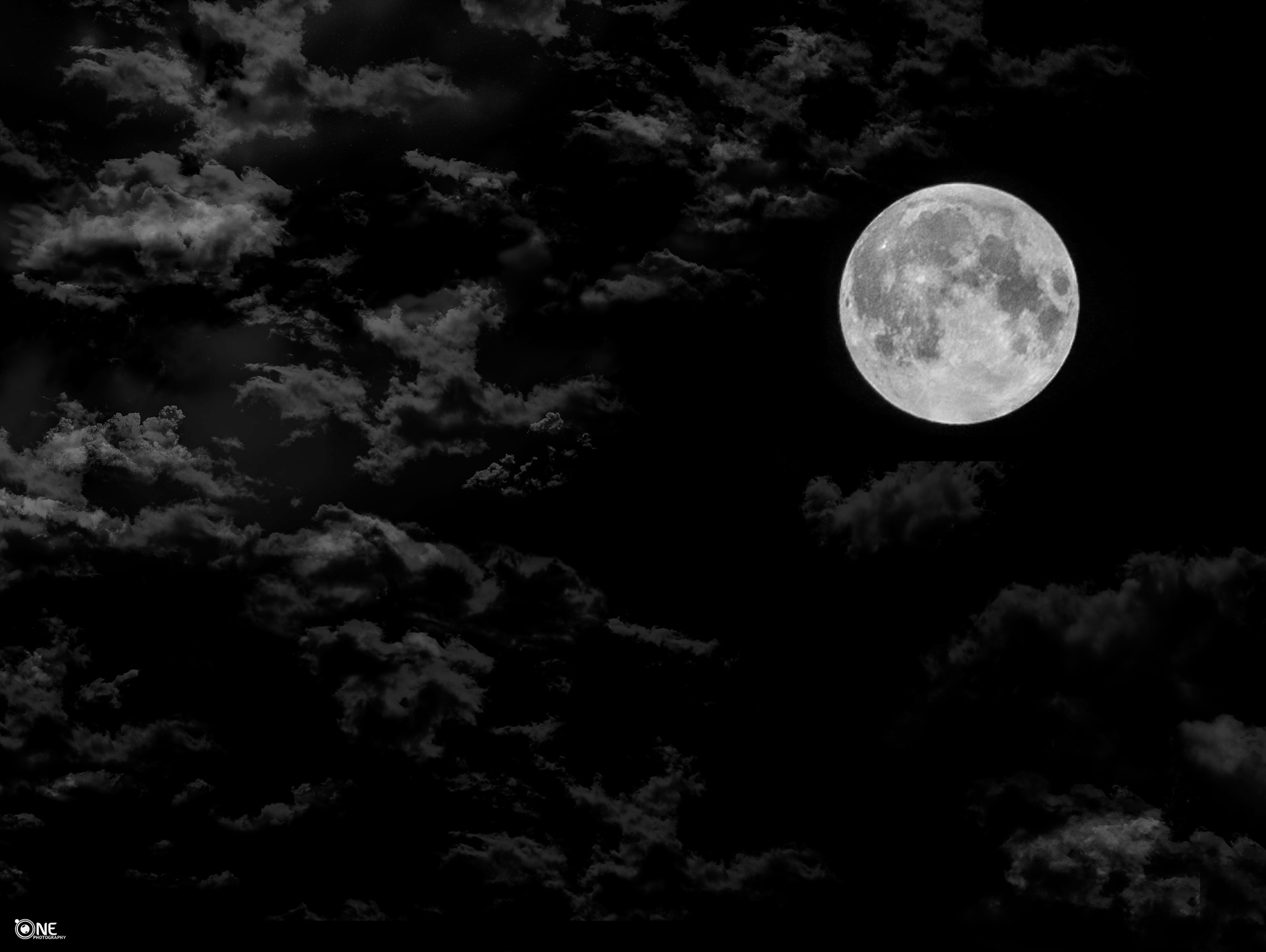 Moon In Egypt  by Ahmed Magdy