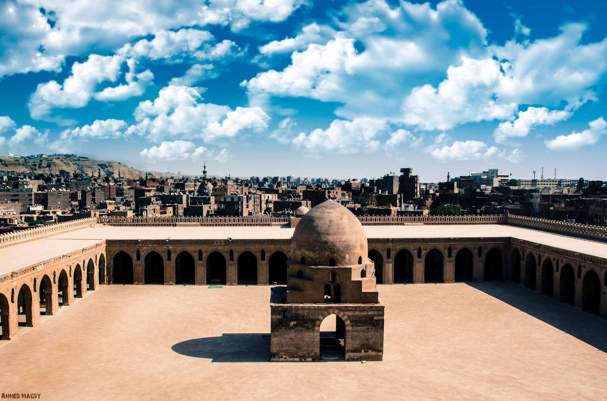 Masjid Ibn Tulun in Egypt by Ahmed Magdy