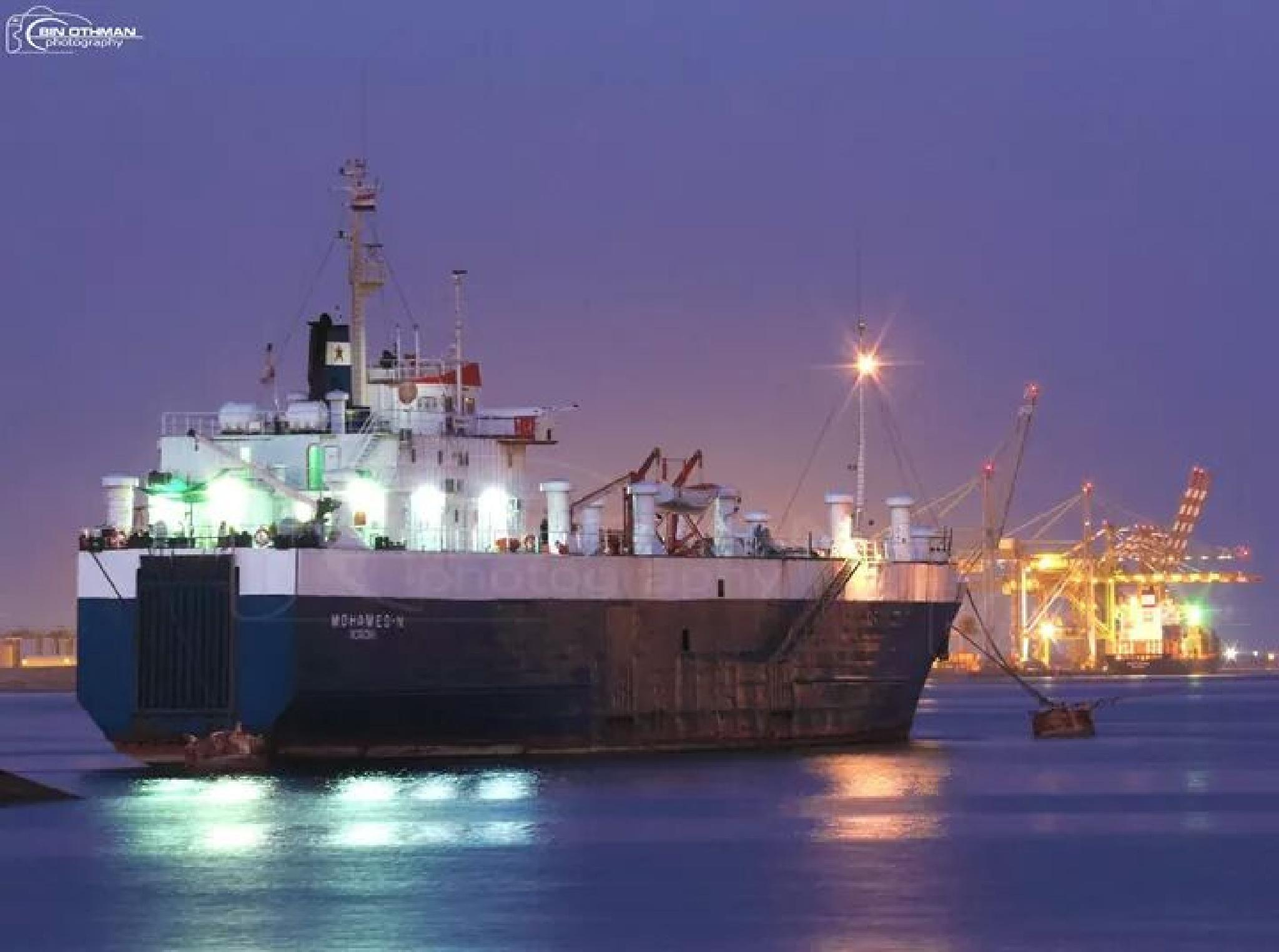 aden sea port by Mohammed Bin Othman