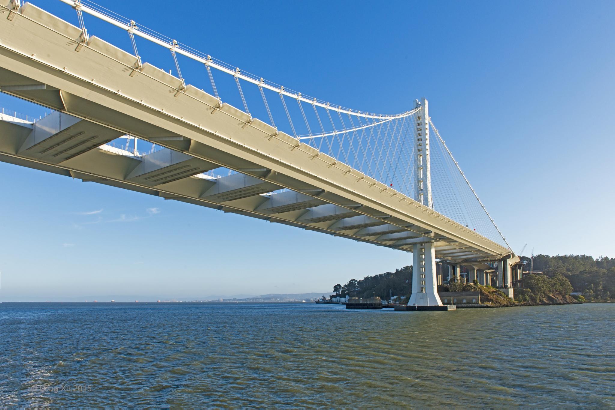 Bay Bridge by Long Xu