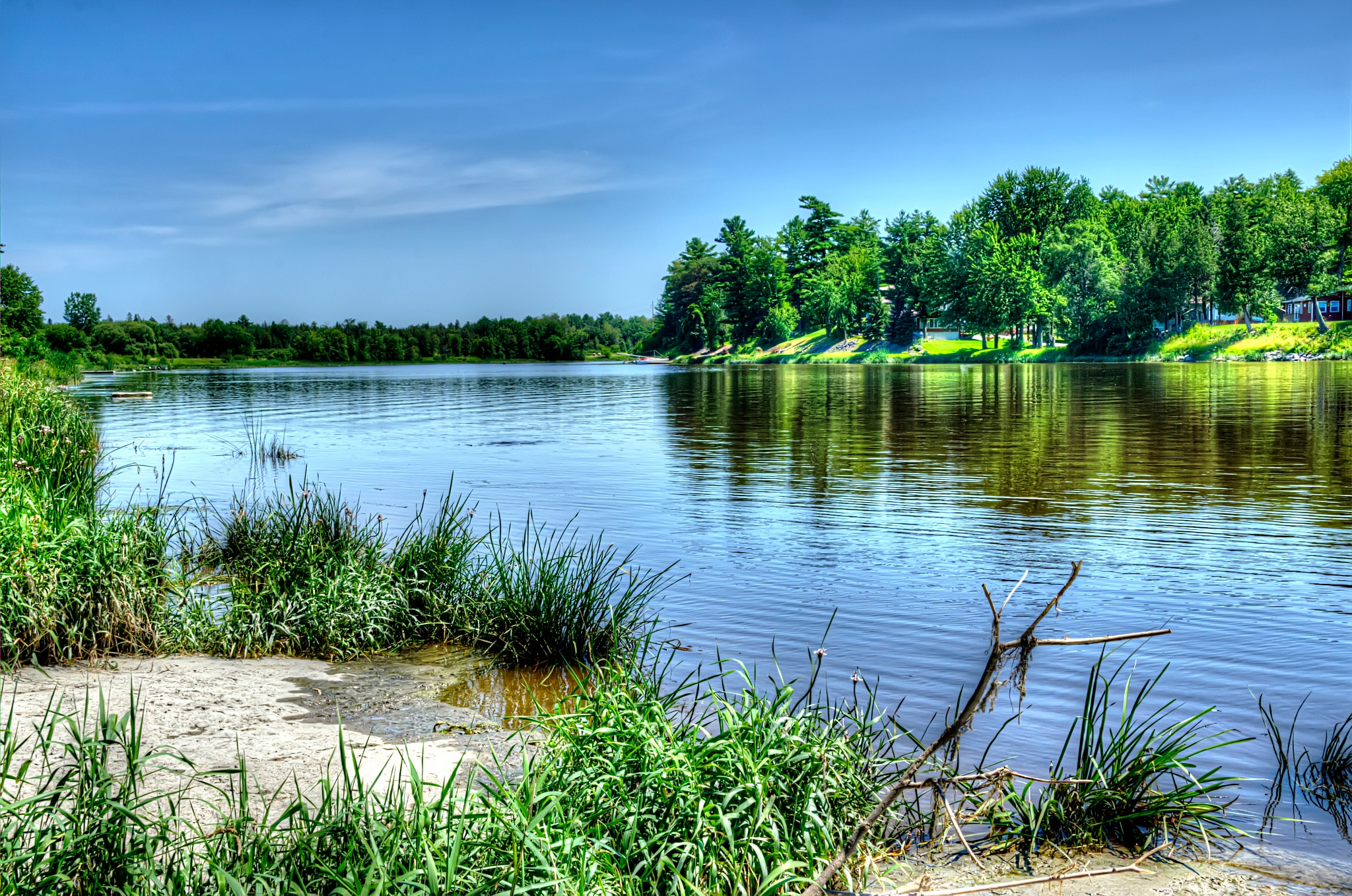 A Sunny Day On The South Nation River by Paul Deveau