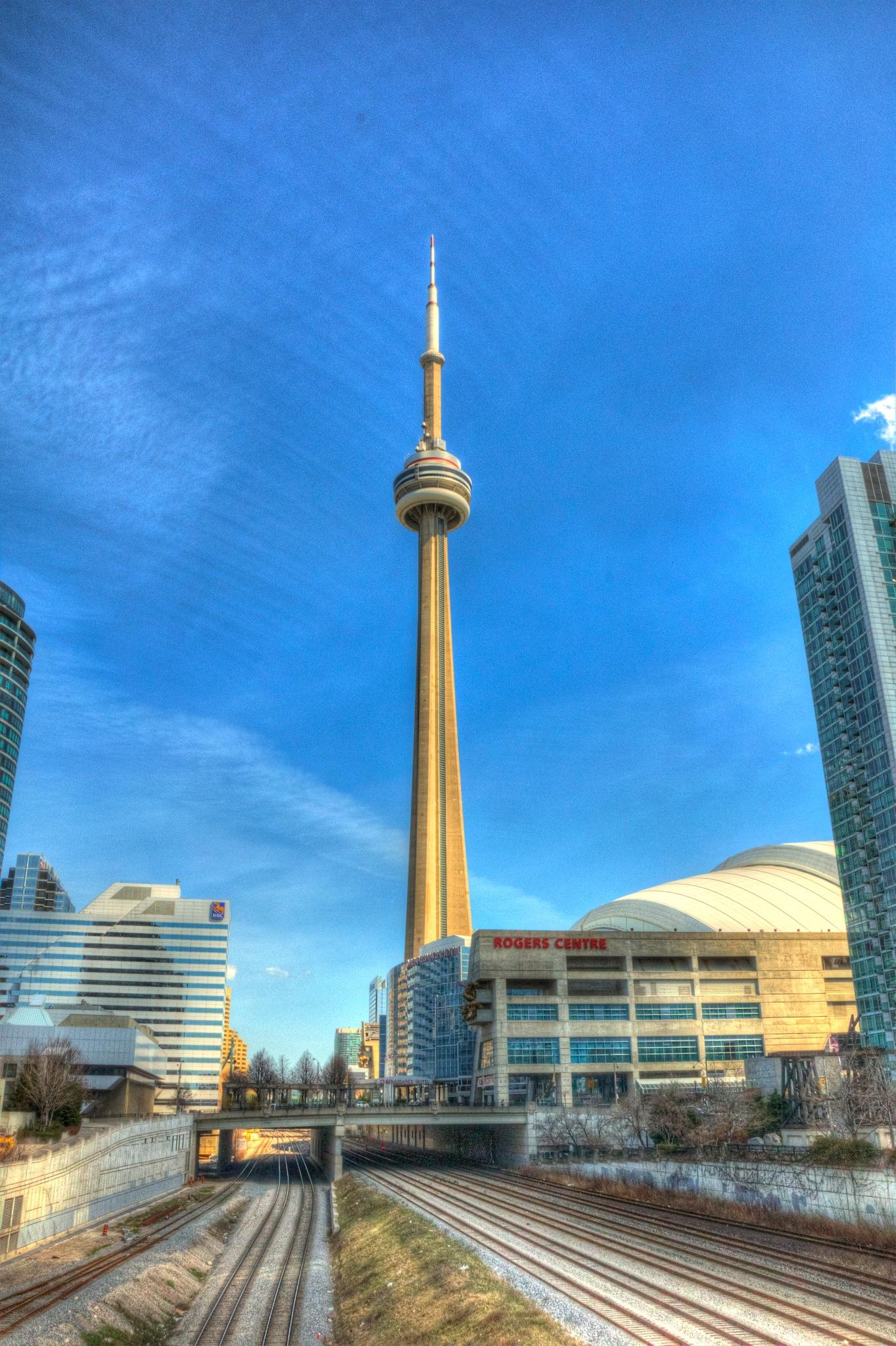 CN Tower by Paul Deveau