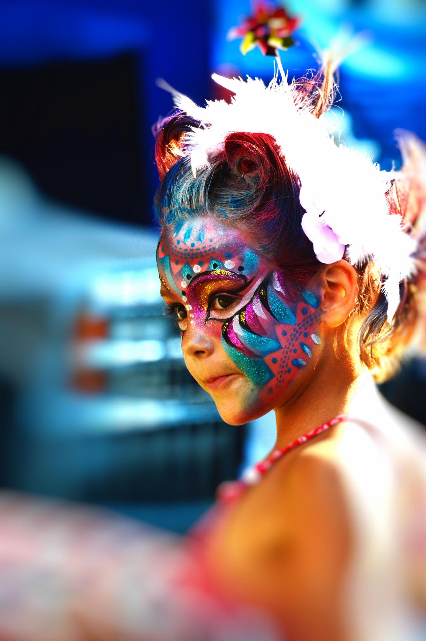 Painted Face by Paul Deveau