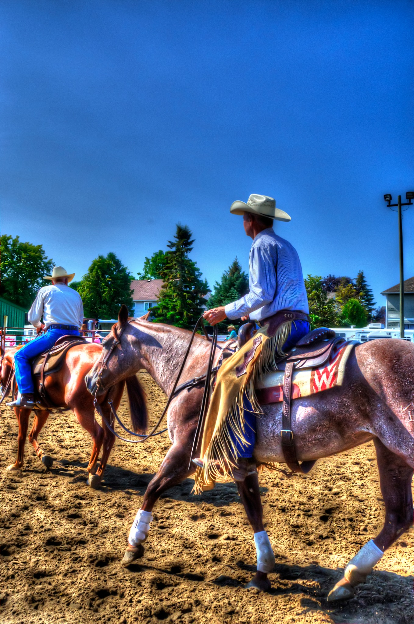 At The Russell Fair by Paul Deveau