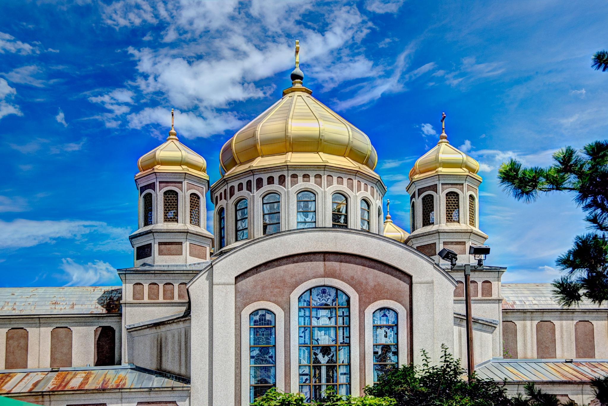 St. John The Baptist Ukrainian Catholic Church by Paul Deveau