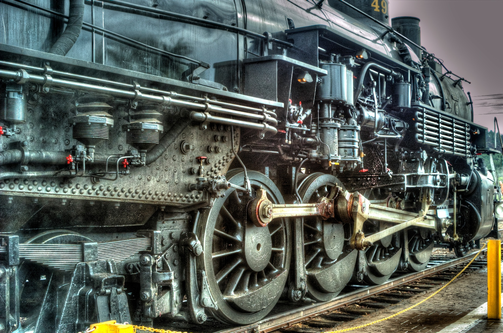 The Age of Steam by Paul Deveau