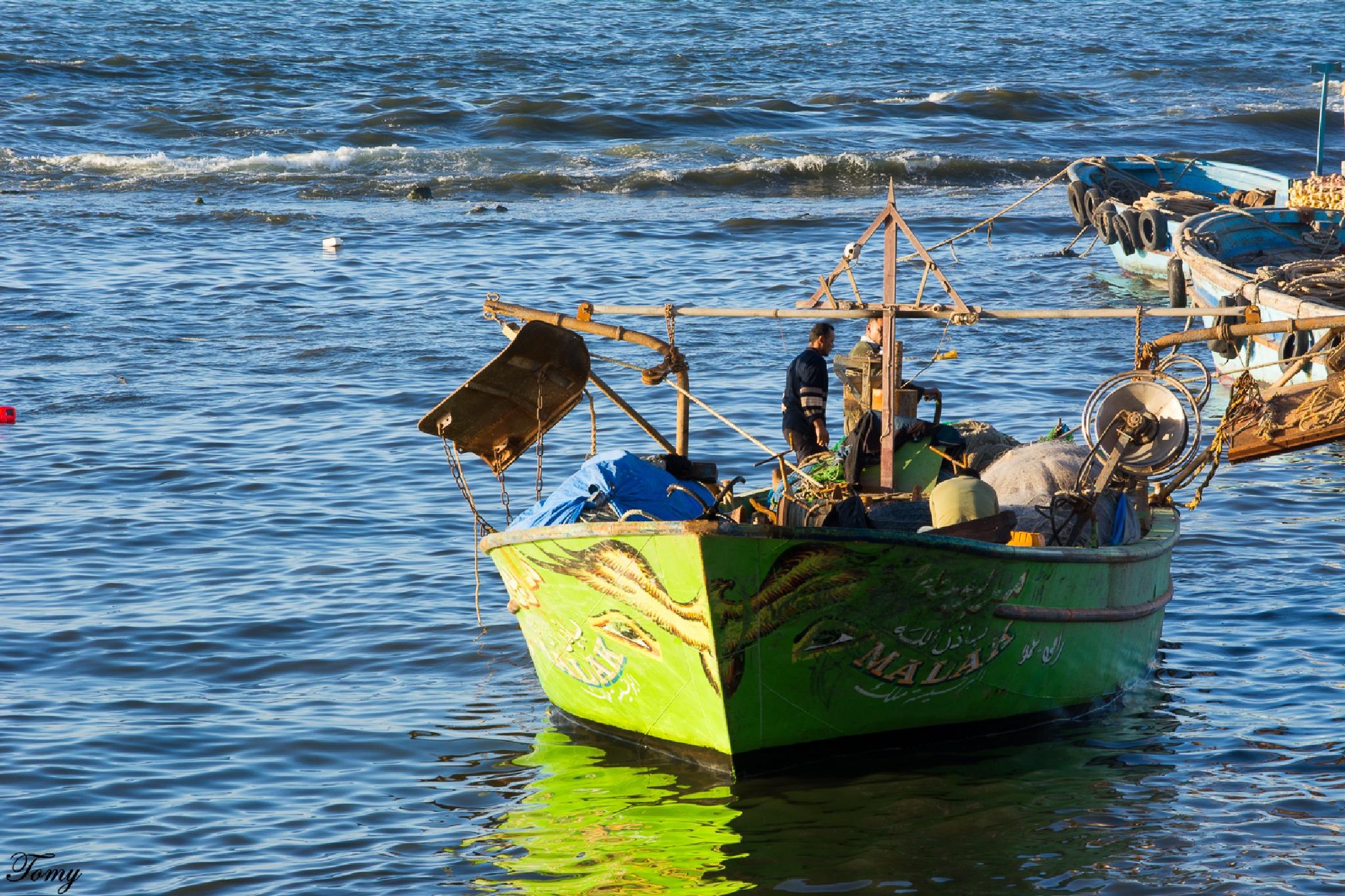 boat by Hatem Tomy