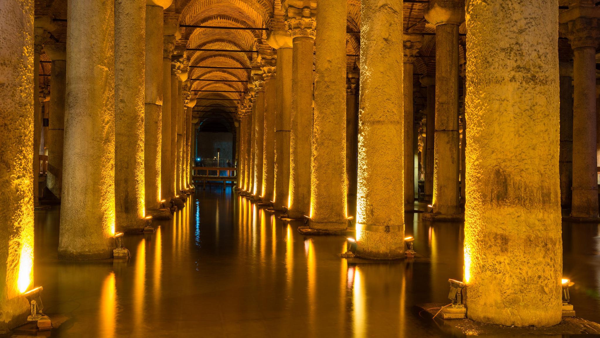 Basilica Cistern by marian ciubotaru