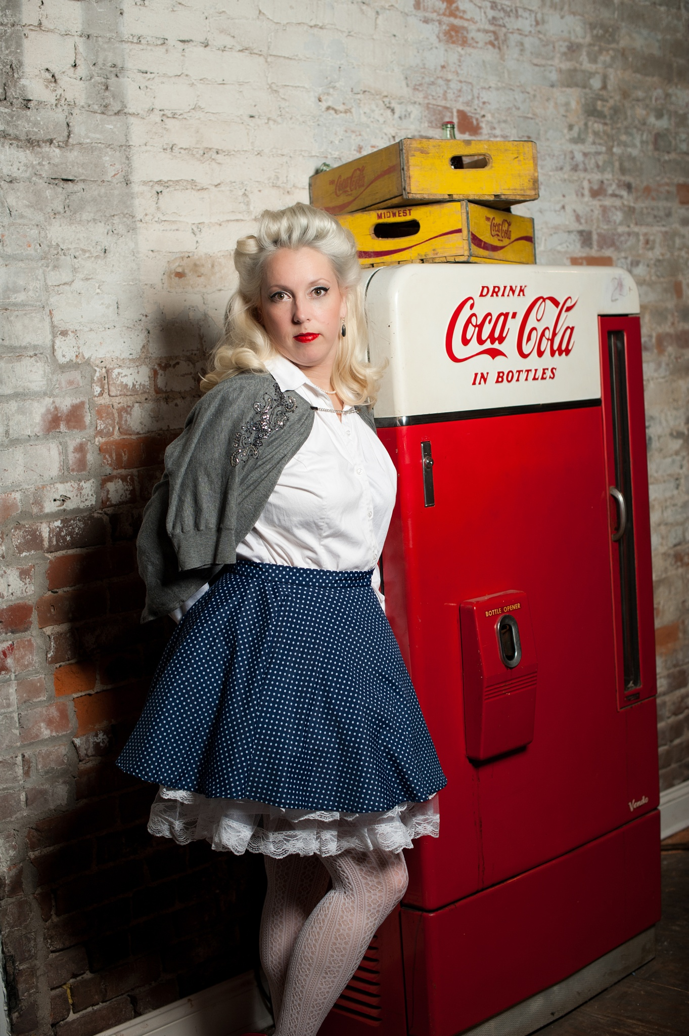 PinUp Pretty Coca-Cola Gal by trishatrixie