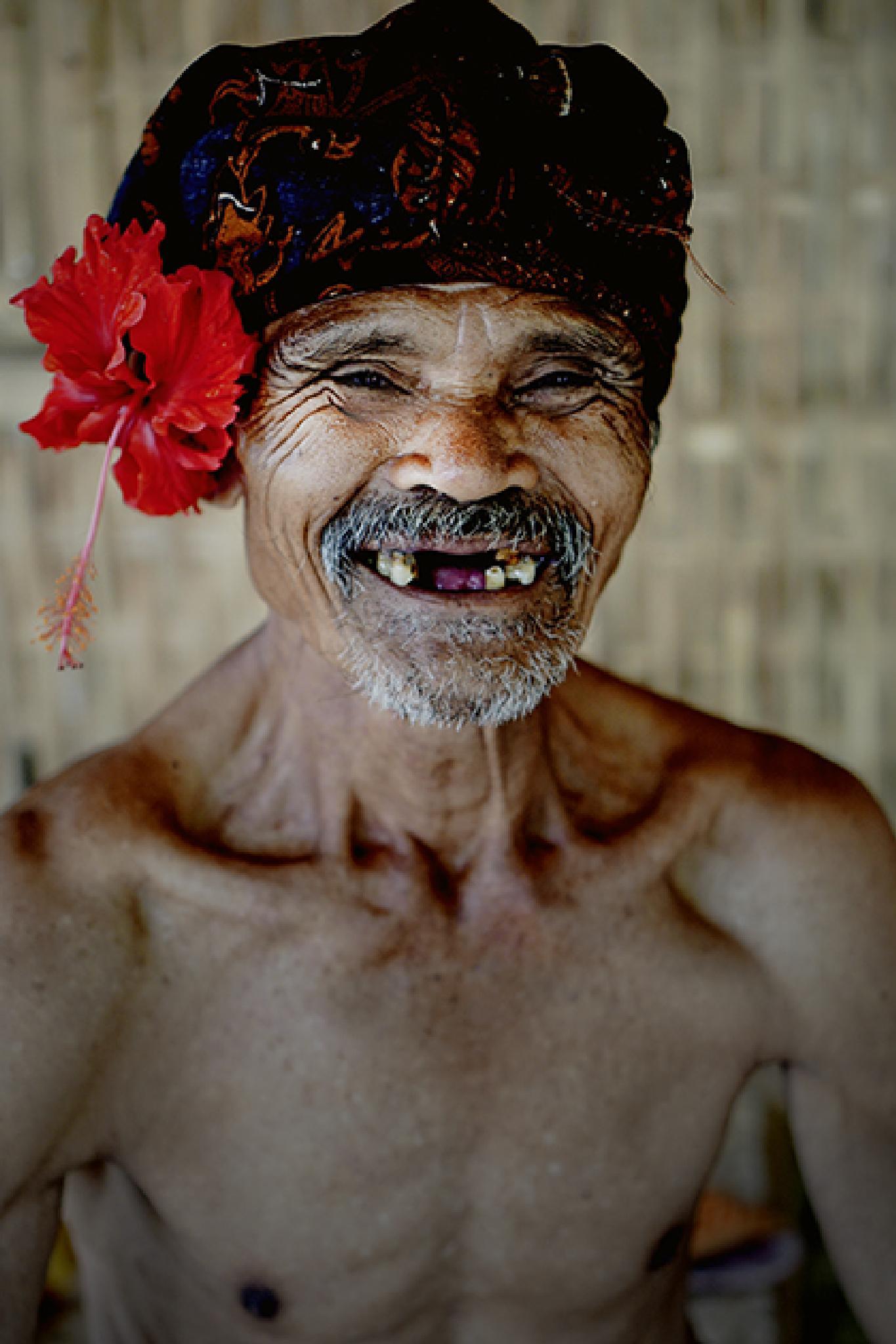Portrait of Balinese man by yangunayasa63