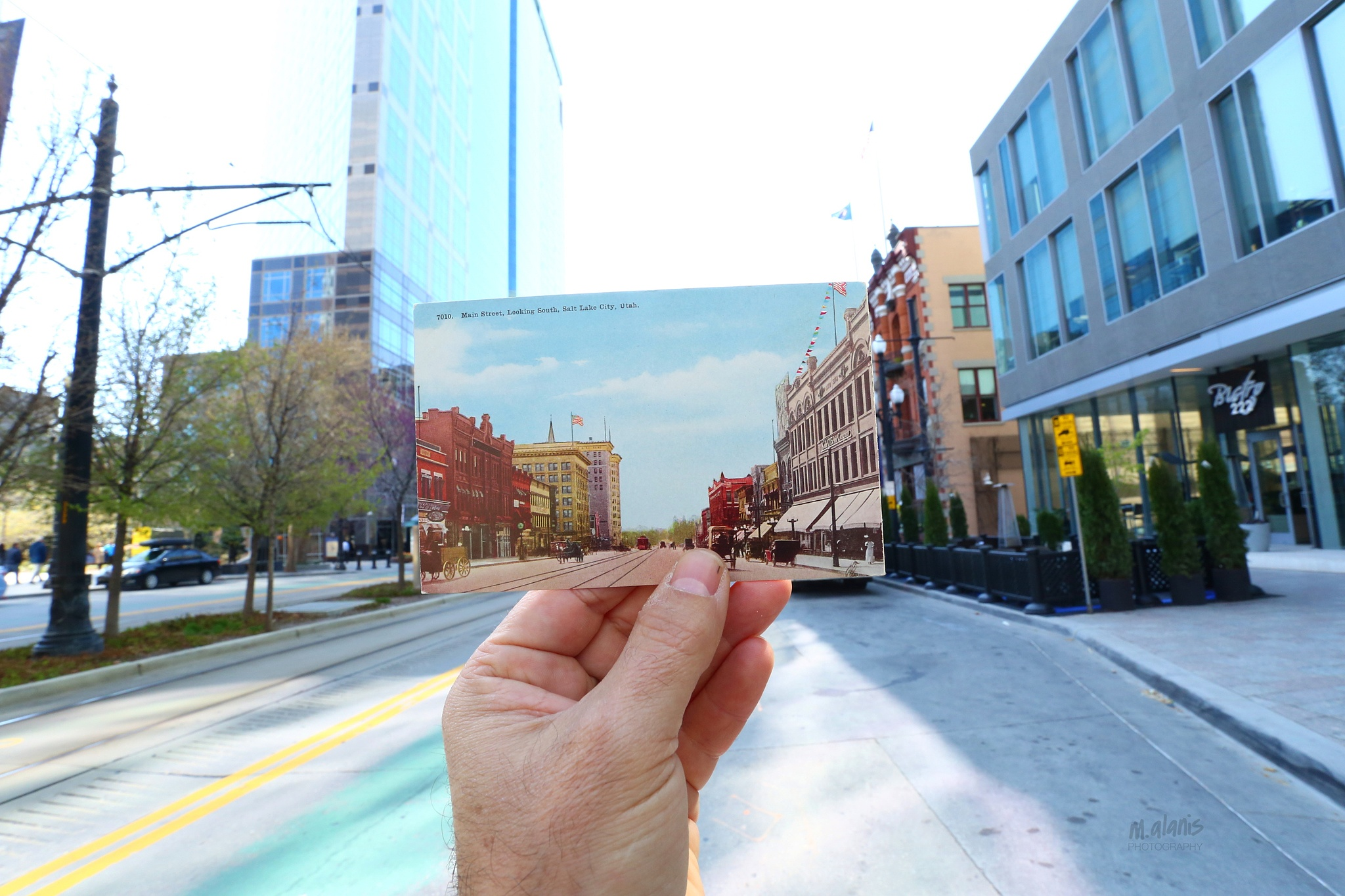 Postcard Project: Salt Lake City, Now & Then by Mauricio Alanis
