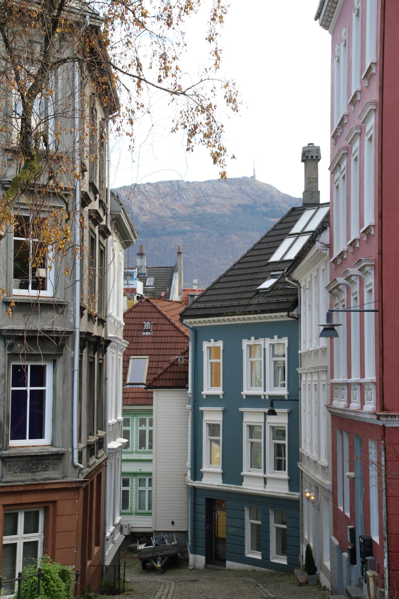Bergen in october by Atilla Gunhan Photograpy