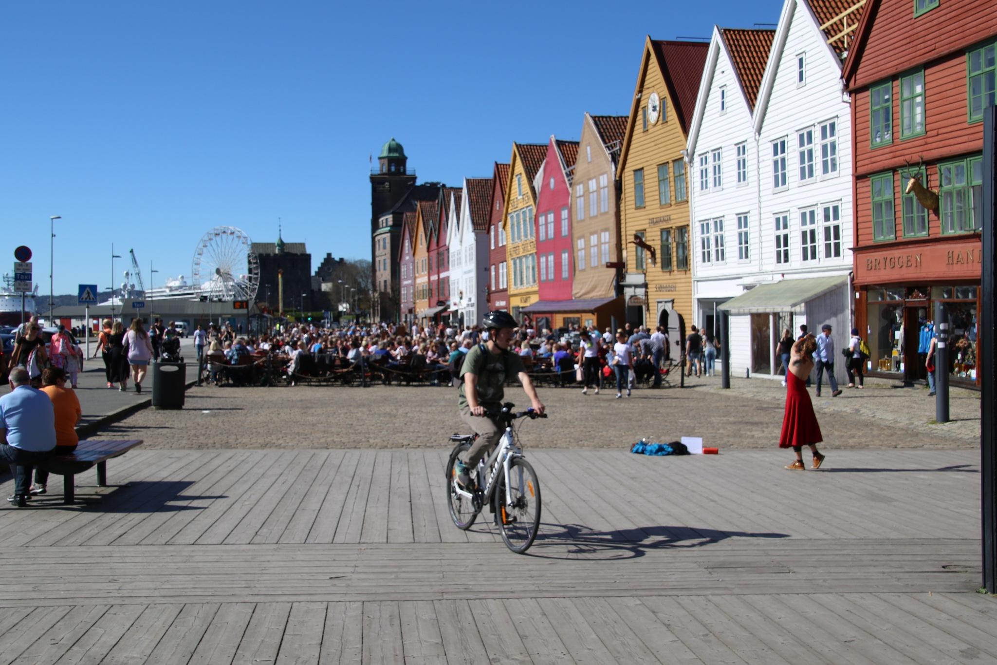 Bergen, bryggen by Atilla Gunhan Photograpy