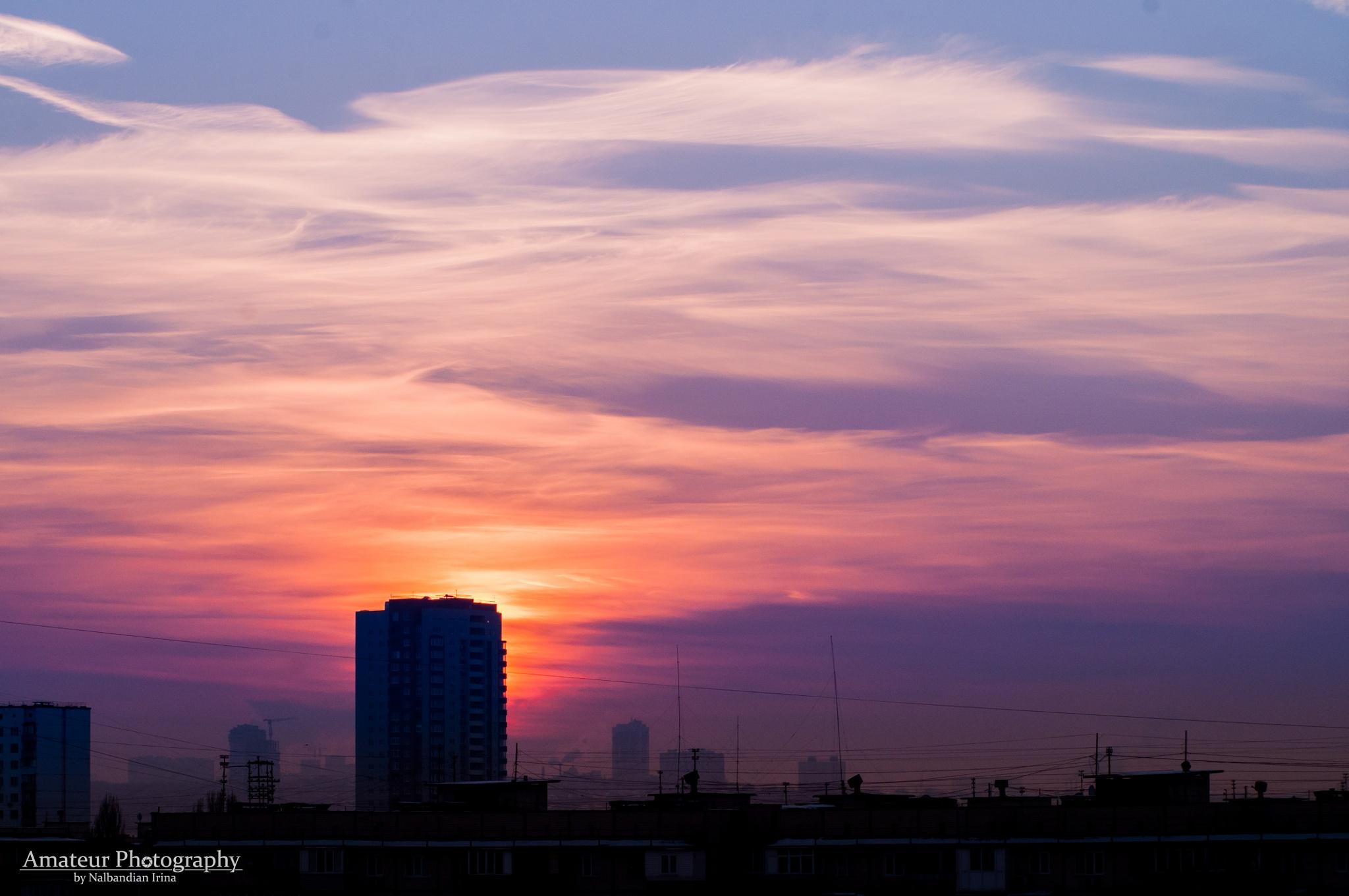 Sunset by civilizen