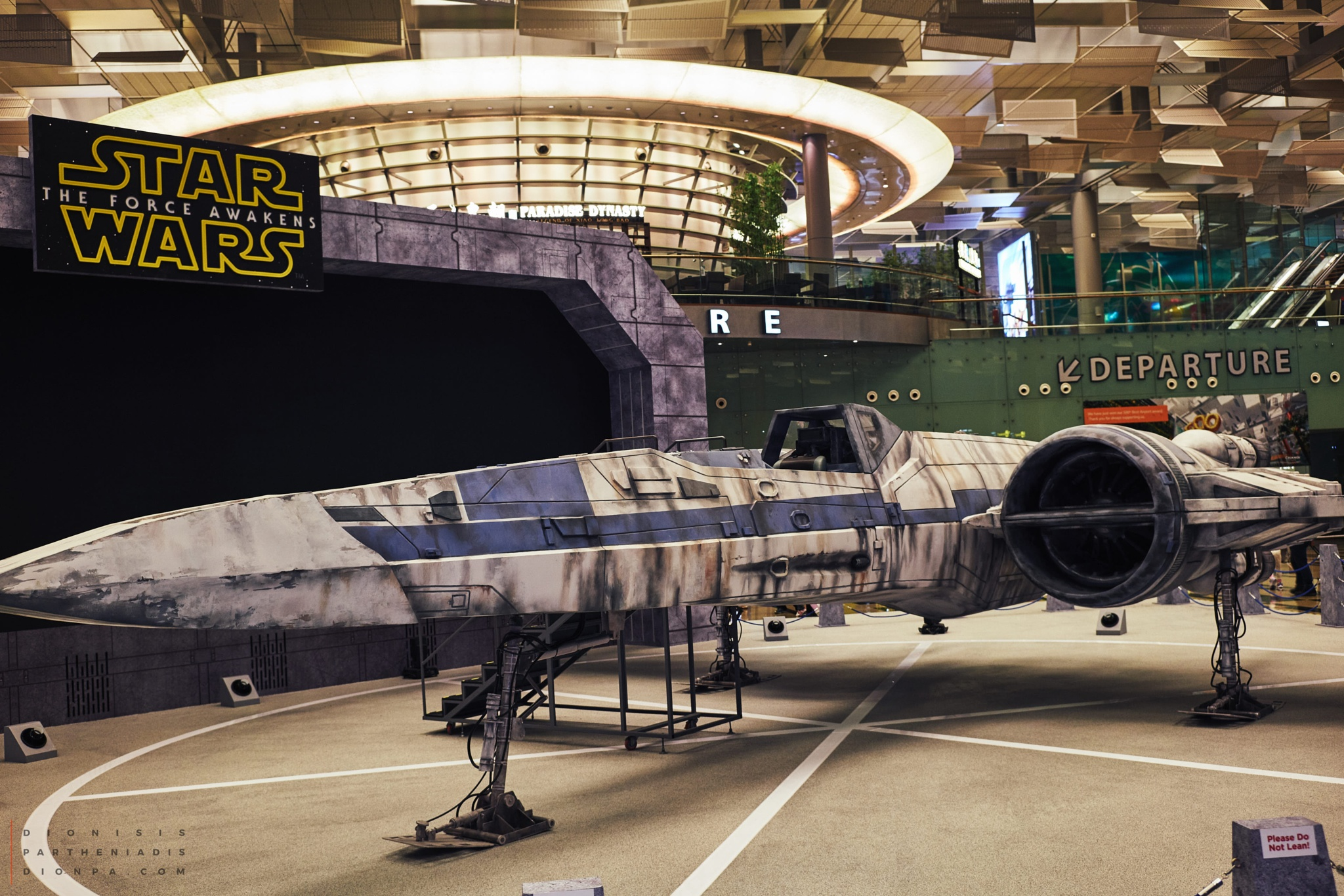 The x-wing (Incom T-65 Starfighter) by Dionisis Partheniadis