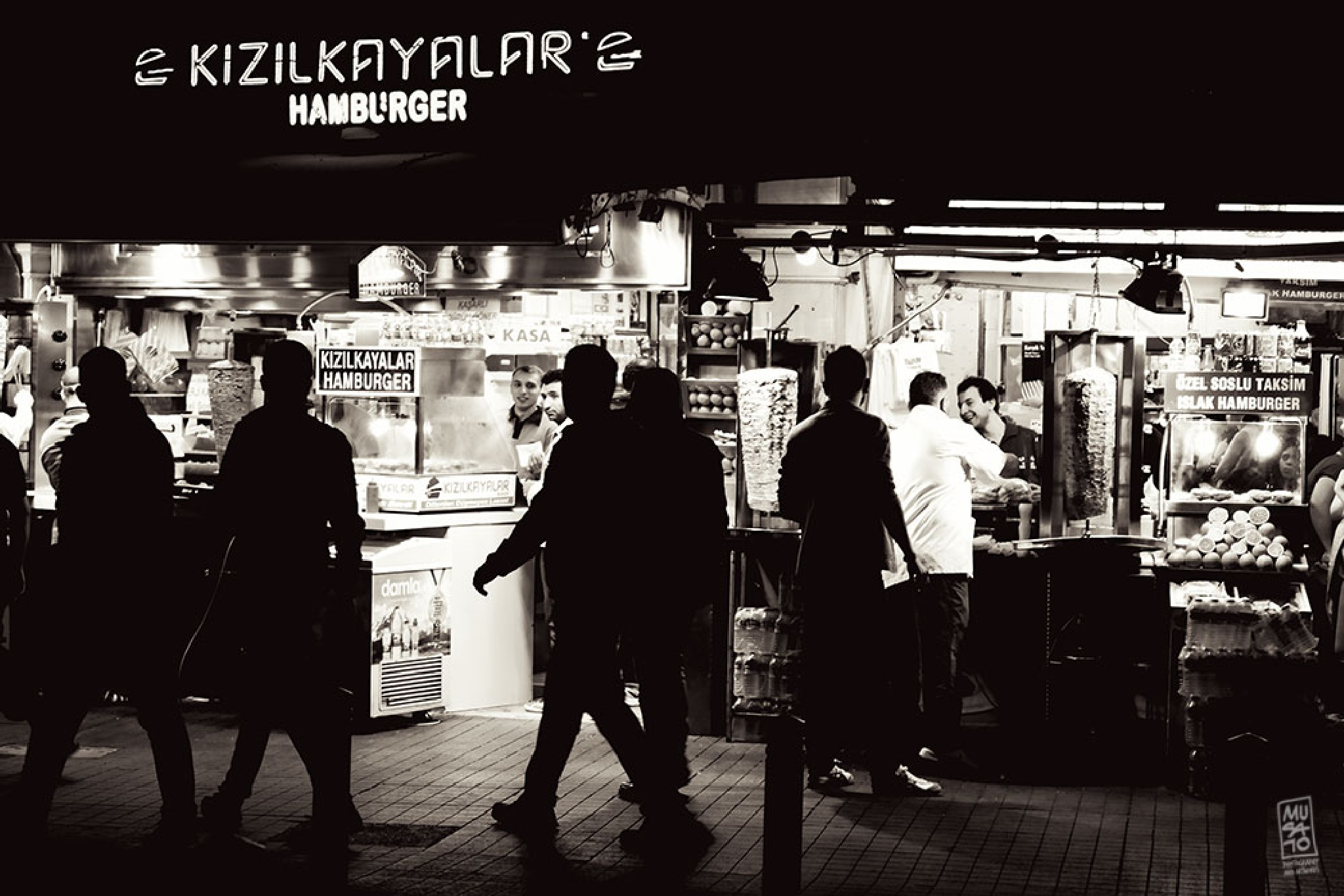 the famous buffets of Taksim by Musato