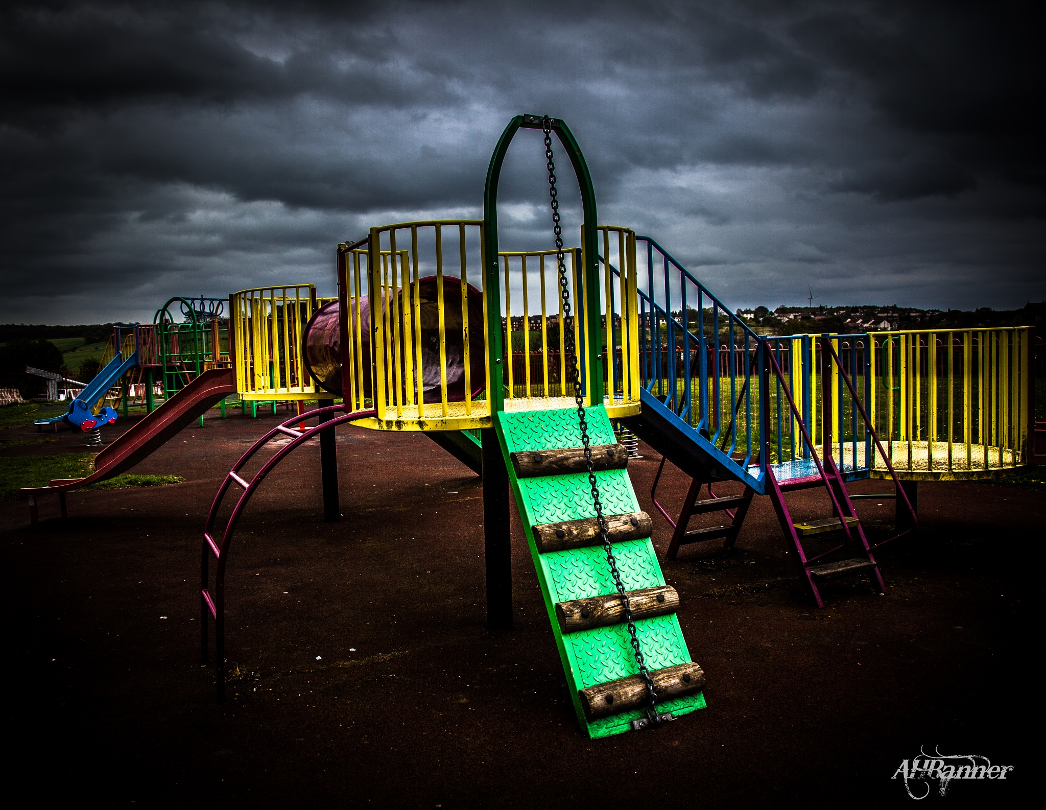 My mind is a playground! by Ady Banner