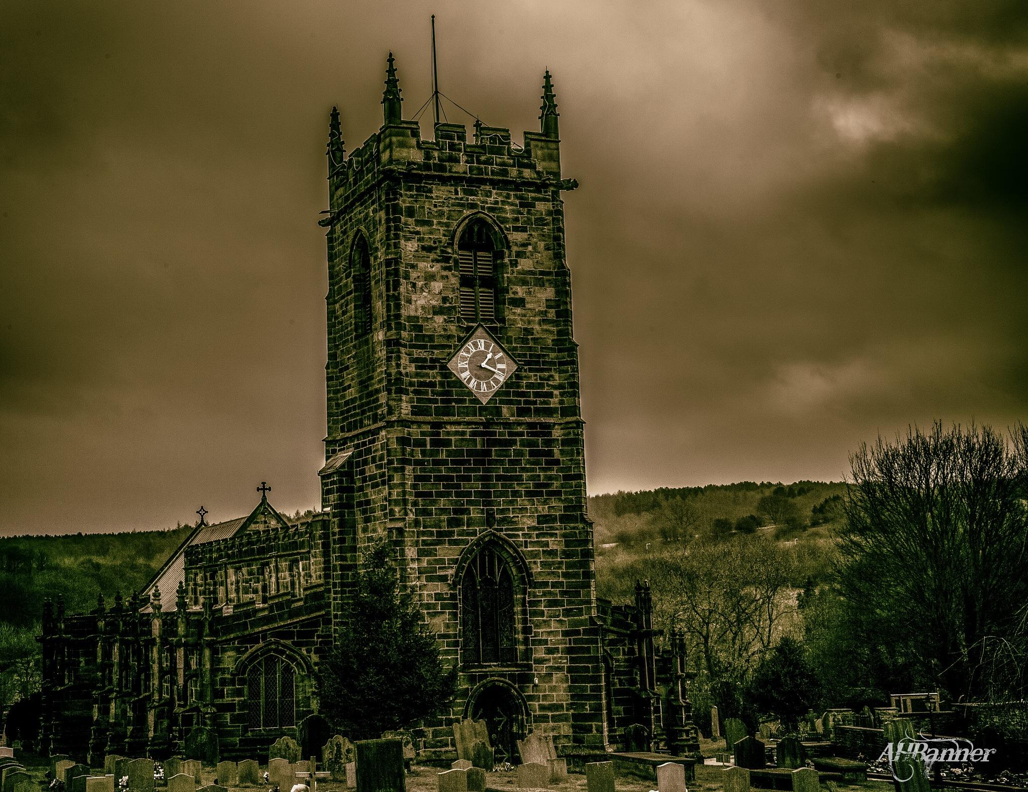 12th Century Church by Ady Banner